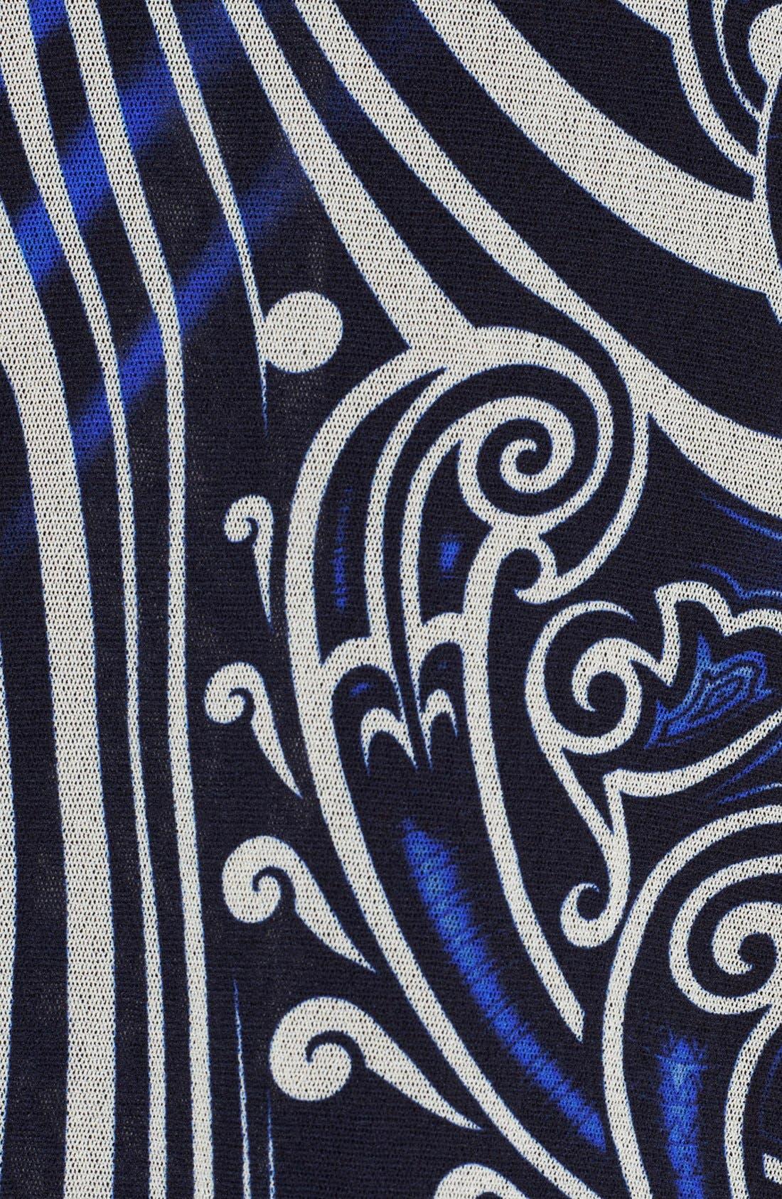 Alternate Image 3  - Jean Paul Gaultier Tattoo Print Tulle Midi Tube Skirt