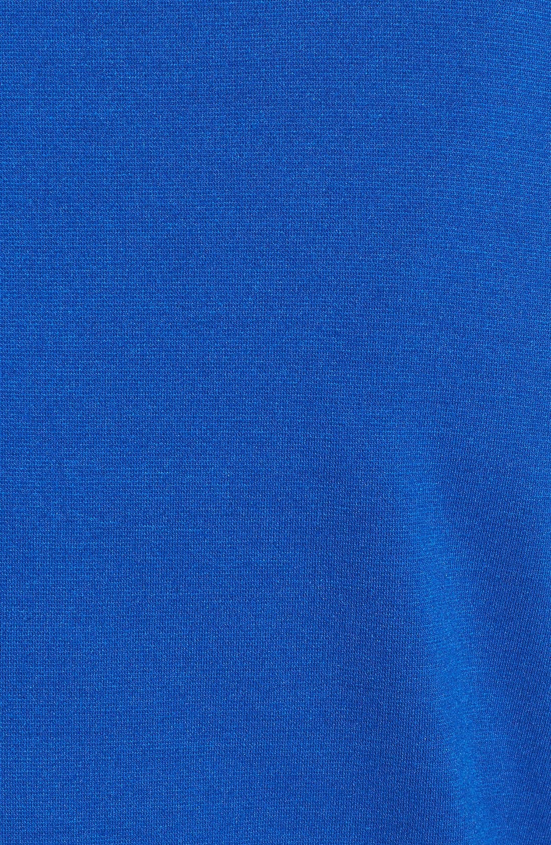 Alternate Image 4  - Ellen Tracy Front Zip Colorblock Ponte Knit Shift Dress