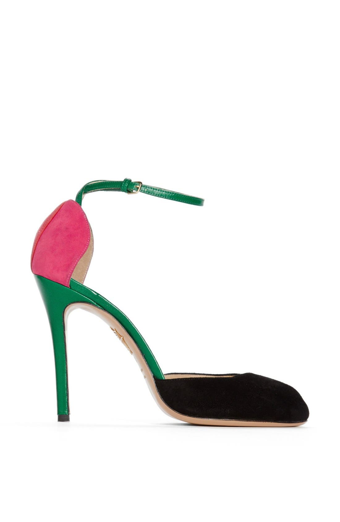 Alternate Image 4  - Charlotte Olympia 'Cherry' Ankle Strap Pump