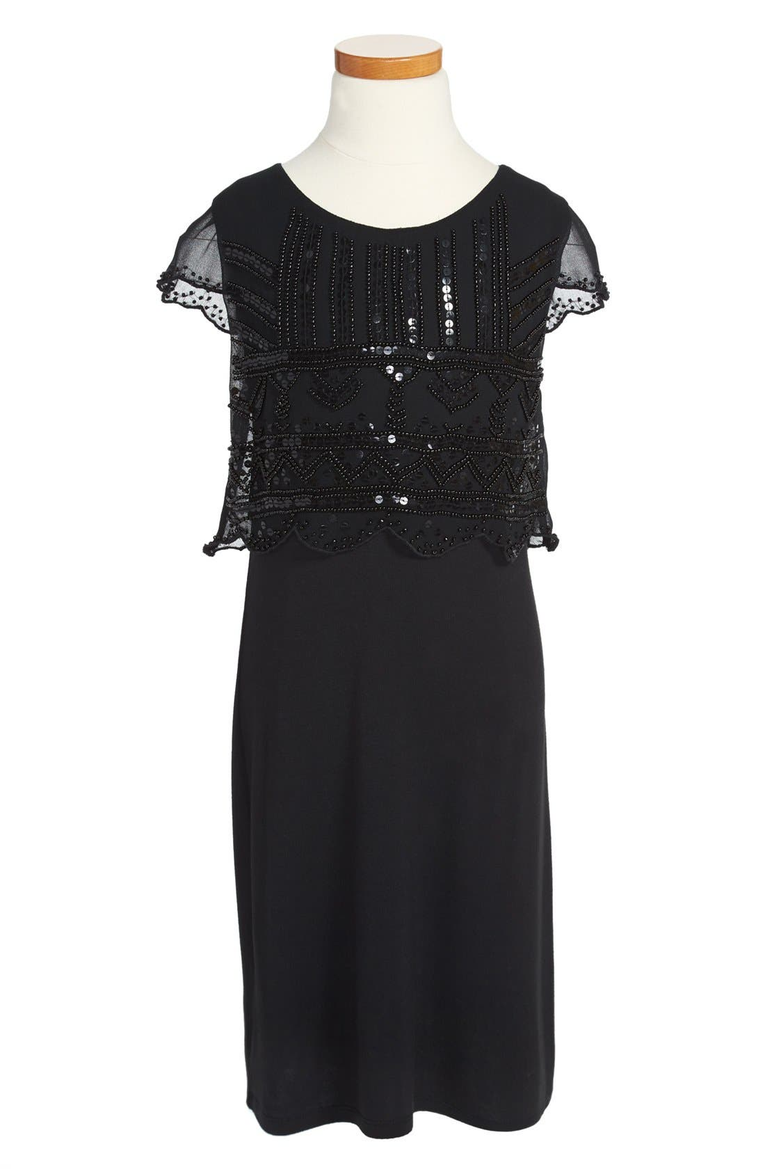 Alternate Image 1 Selected - Sally Miller Beaded Dress (Big Girls)