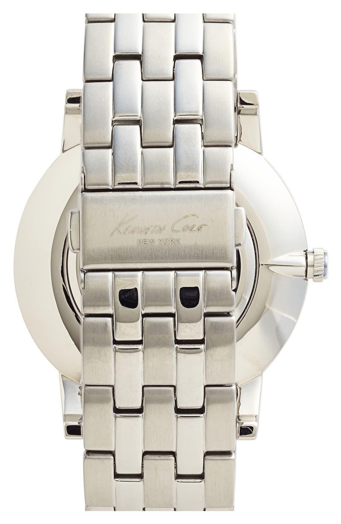 Alternate Image 2  - Kenneth Cole New York Slim Bracelet Watch, 42mm