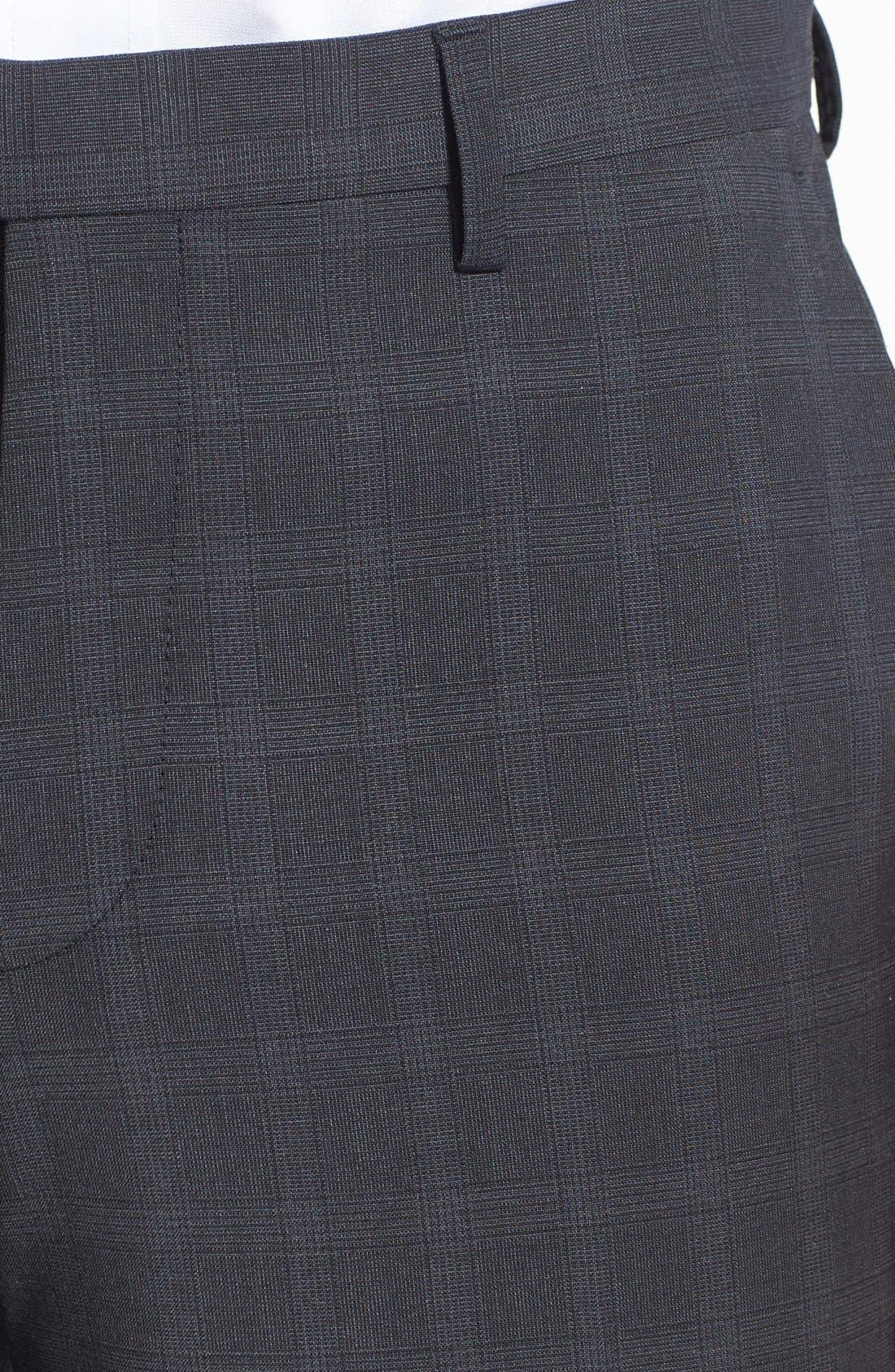 Alternate Image 3  - BOSS HUGO BOSS 'Shark' Flat Front Trousers