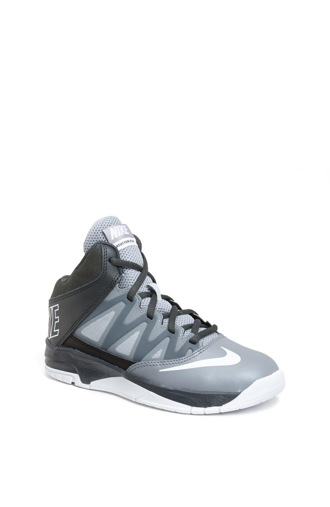 Alternate Image 1 Selected - Nike 'Stutter Step' Basketball Shoe (Toddler & Little Kid)