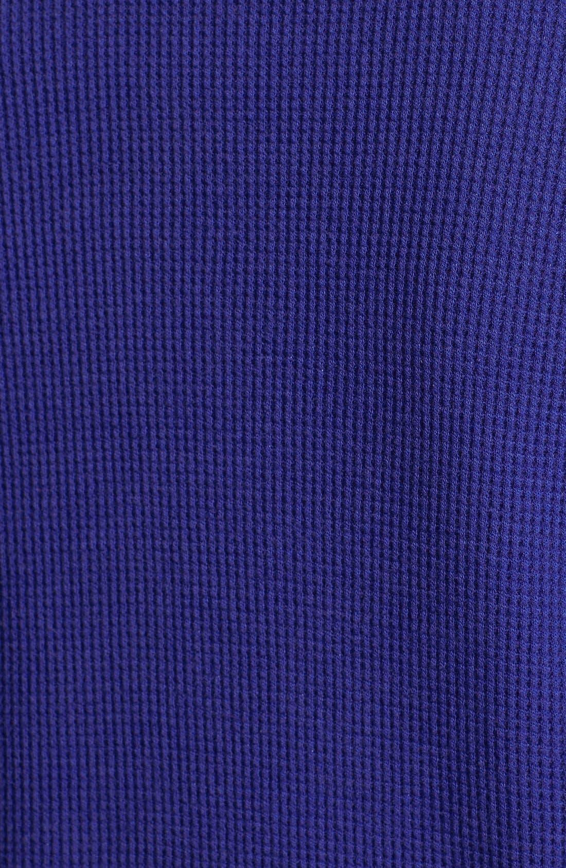 Alternate Image 3  - Pink Lotus Thermal Faux Wrap Top (Plus Size)