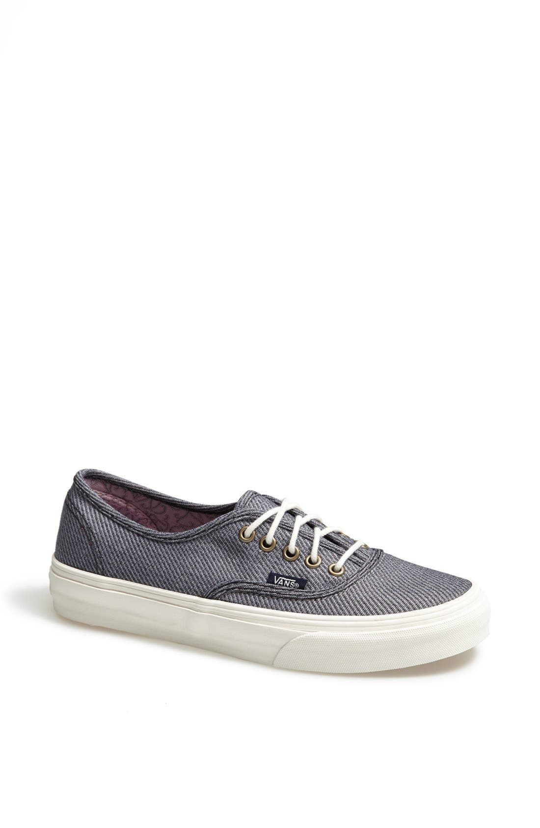 Alternate Image 1 Selected - Vans 'Authentic - Slim' Sneaker (Women)
