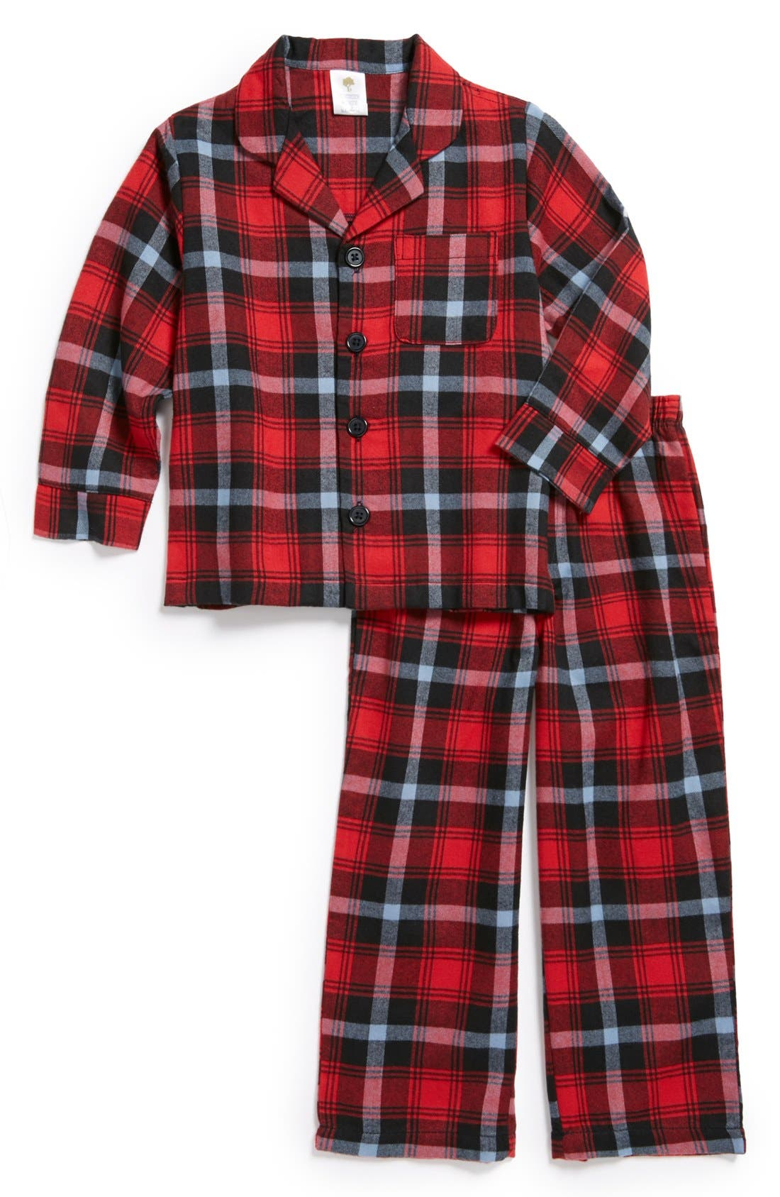 Alternate Image 1 Selected - Tucker + Tate Flannel Pajamas (Toddler)