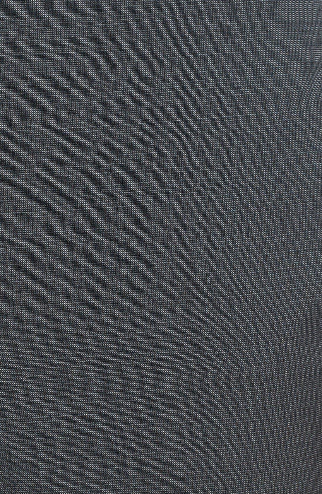 Alternate Image 3  - HUGO 'Heibo' Flat Front Wool Trousers