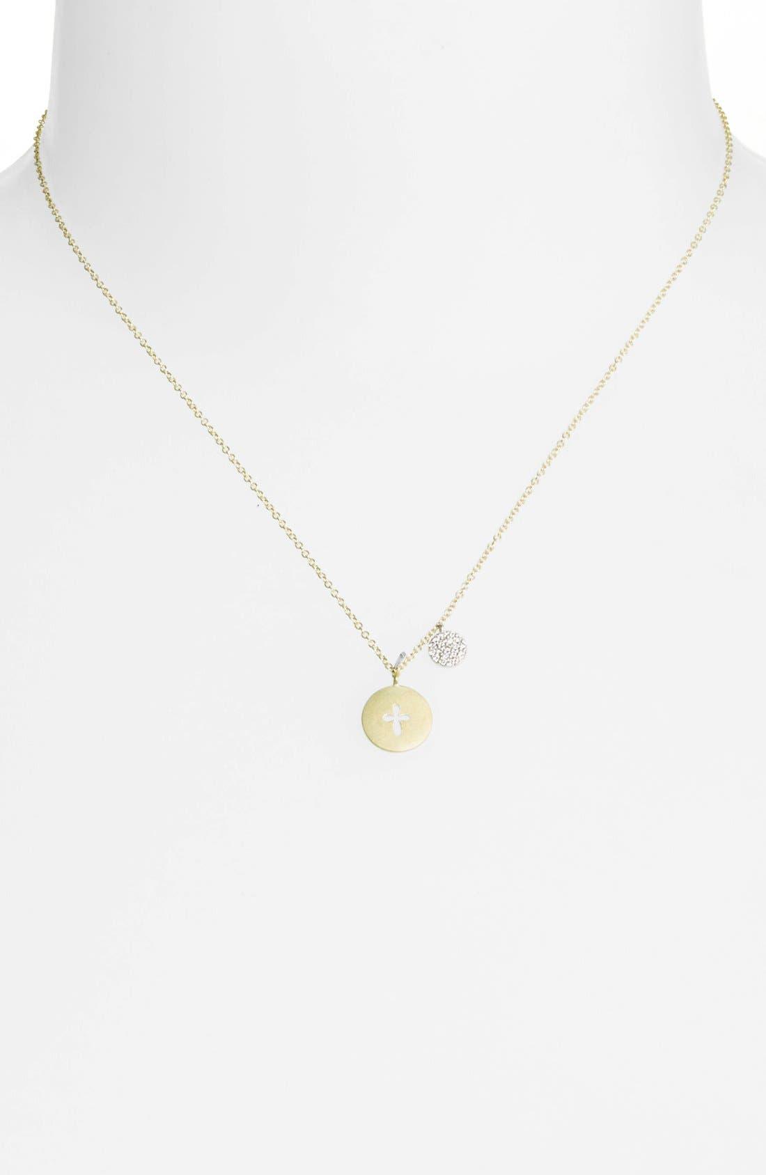 Alternate Image 2  - MeiraT 'Charmed' Diamond Pendant Necklace