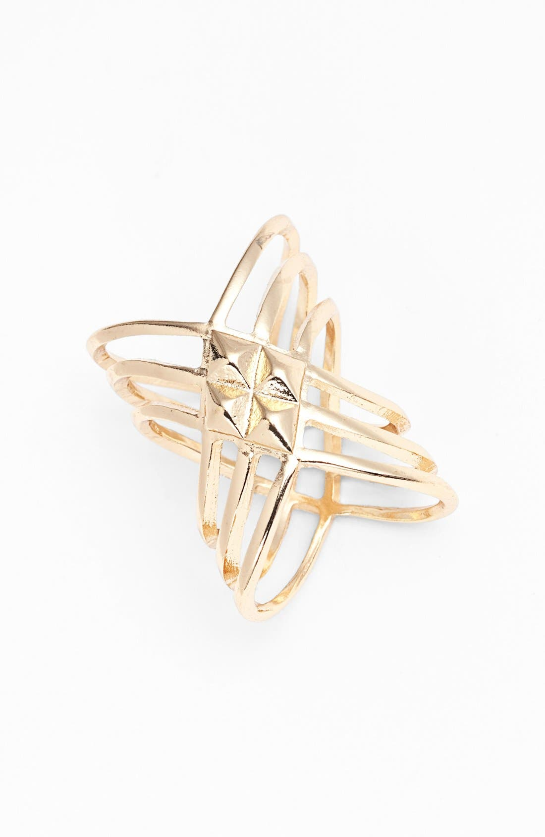 Alternate Image 1 Selected - Leith 'Twisted Armour' Ring