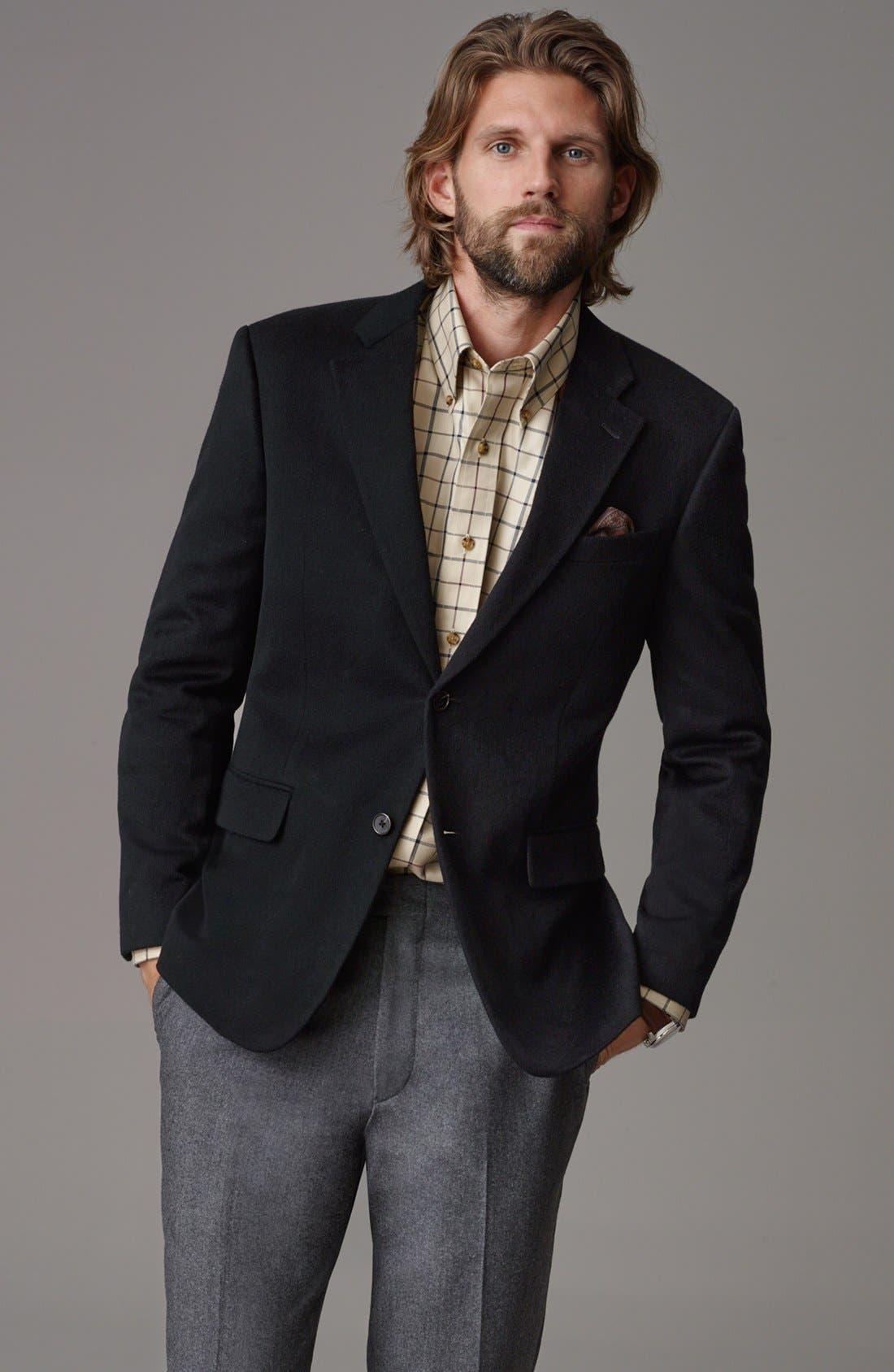Alternate Image 6  - John W. Nordstrom® Signature Cashmere Blazer