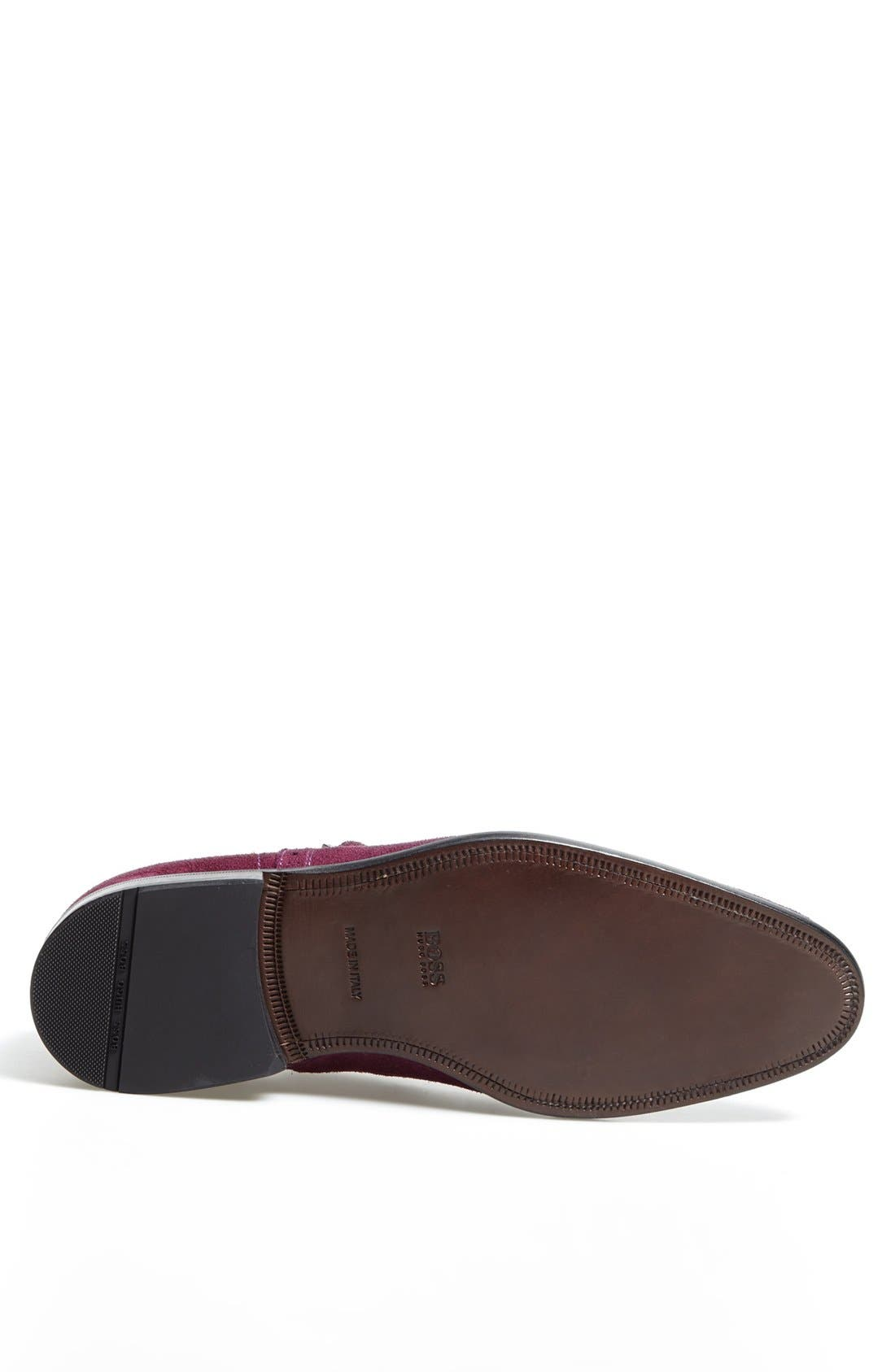 Alternate Image 4  - BOSS HUGO BOSS 'Brossio' Double Monk Wingtip Slip On (Men)