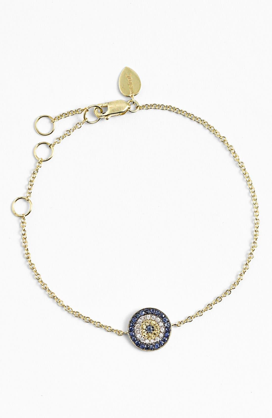 Alternate Image 1 Selected - MeiraT 'Desert Infusion' Diamond & Sapphire Station Bracelet