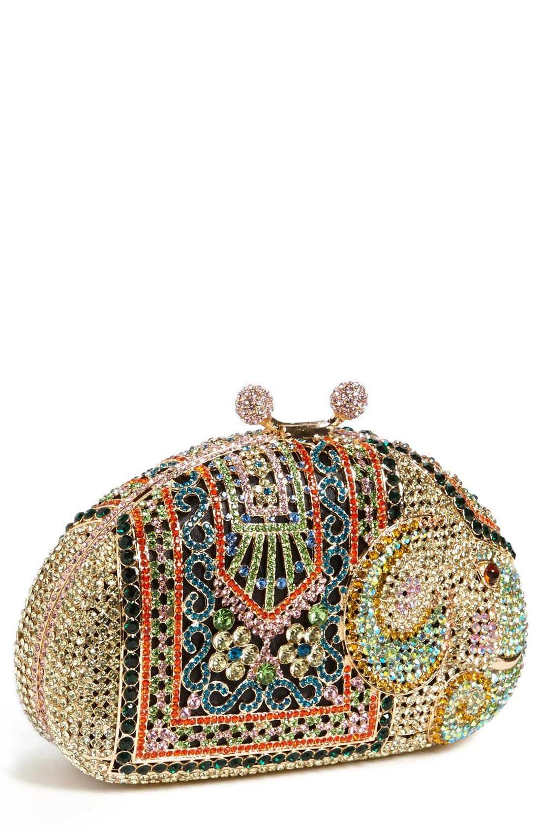 Alternate Image 1 Selected - Natasha Couture 'Elephant' Clutch