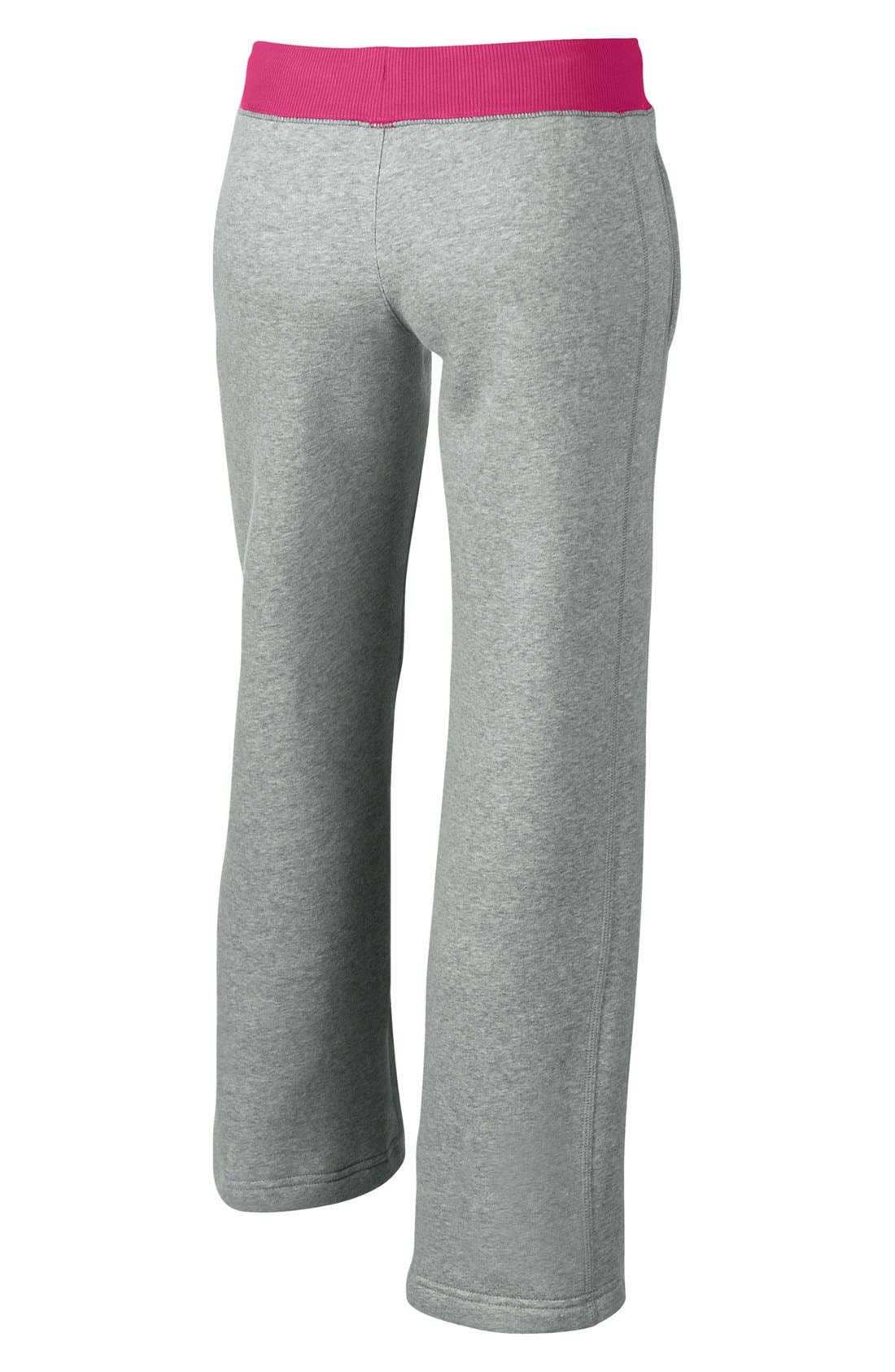Alternate Image 2  - Nike 'N40' Fleece Pants (Little Girls & Big Girls)