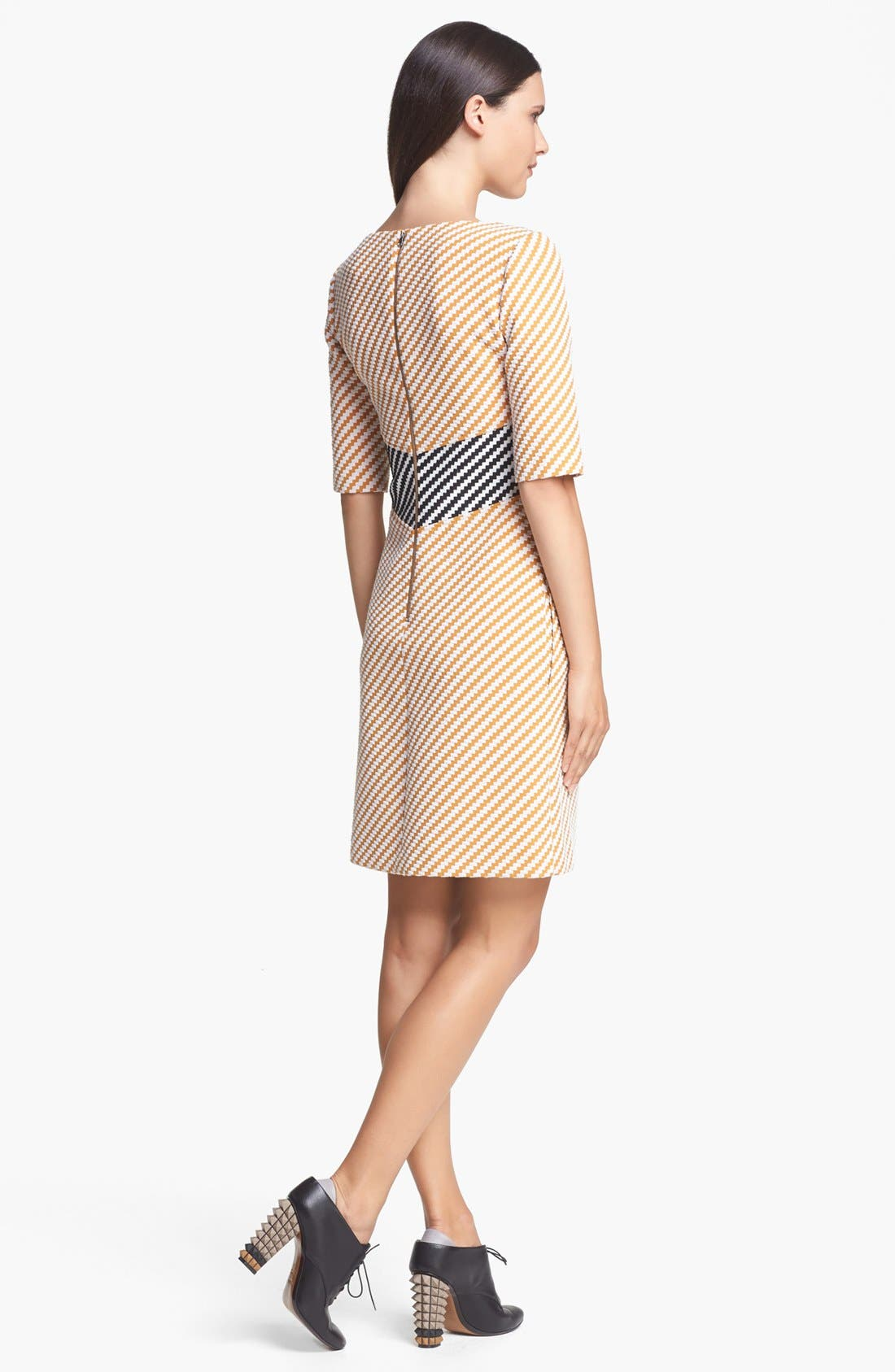 Alternate Image 2  - Carven Zigzag Tweed Dress