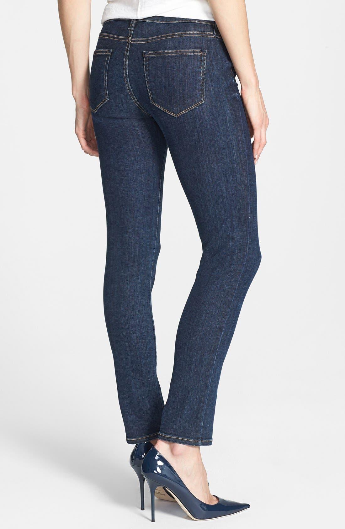 Alternate Image 2  - Paige Denim 'Skyline' Skinny Ankle Jeans (Delancy)