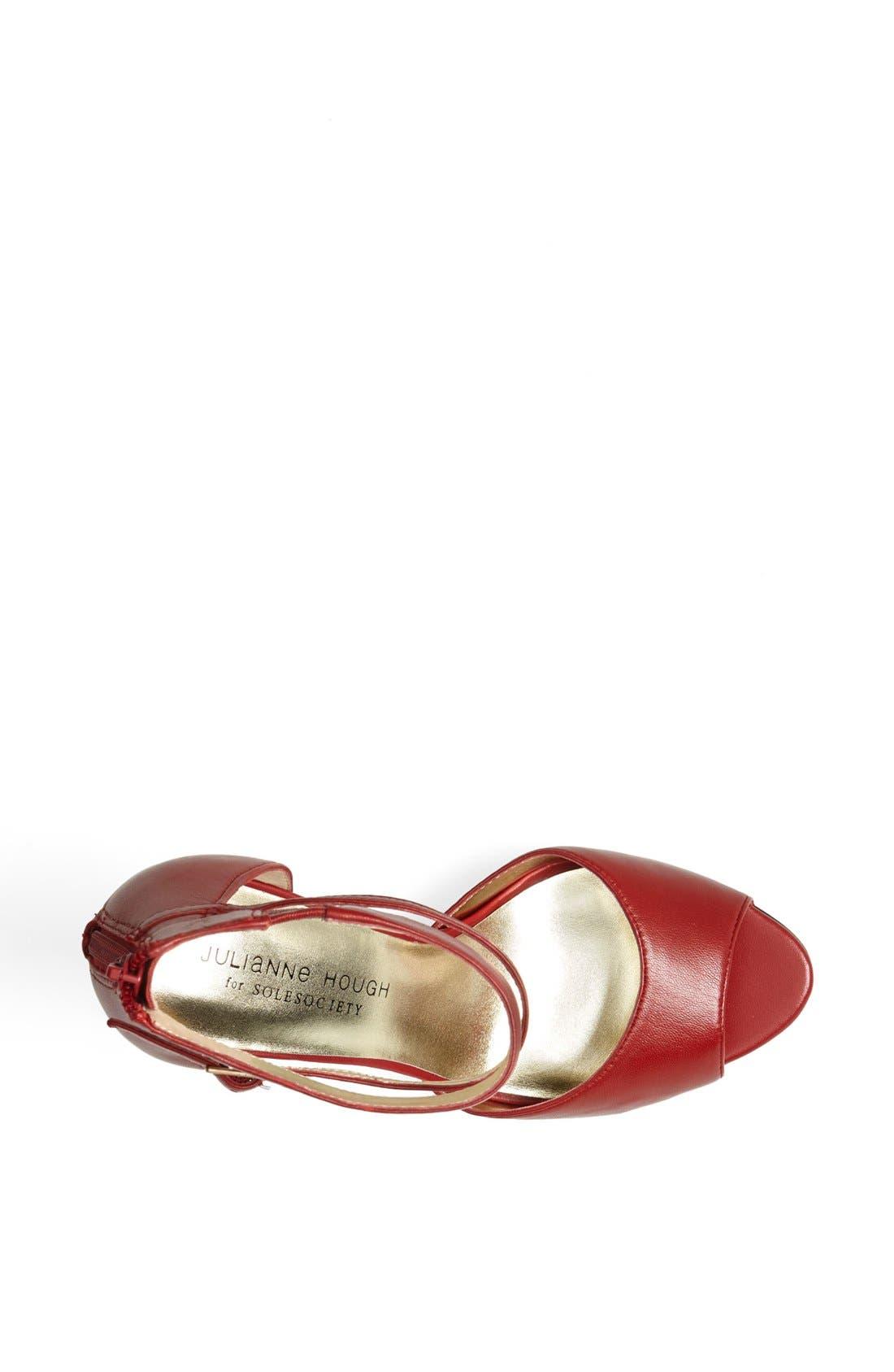 Alternate Image 3  - Julianne Hough for Sole Society 'Denelle' Ankle Strap Sandal