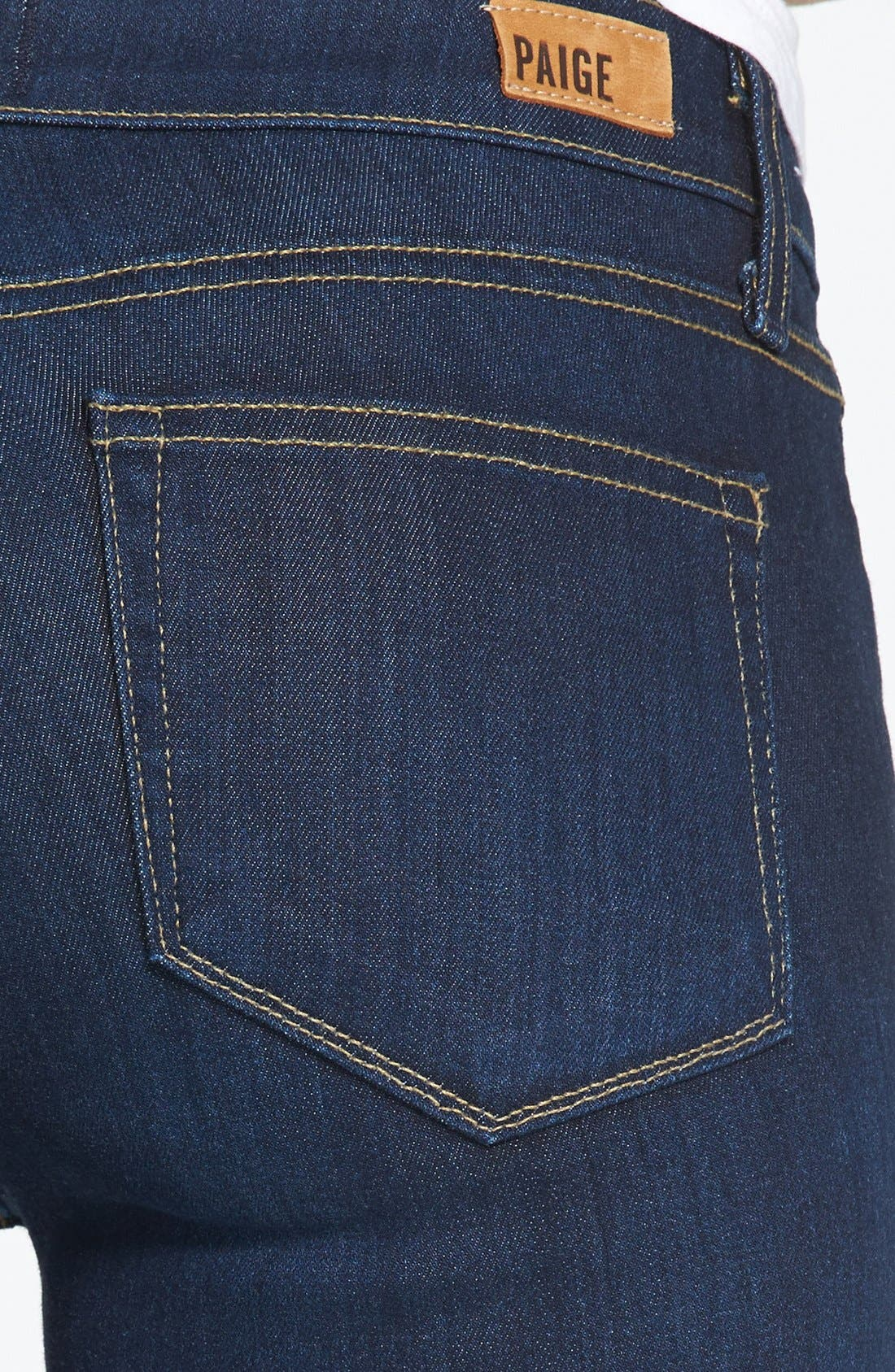 Alternate Image 3  - Paige Denim 'Verdugo' Skinny Ankle Jeans (Ashbury)