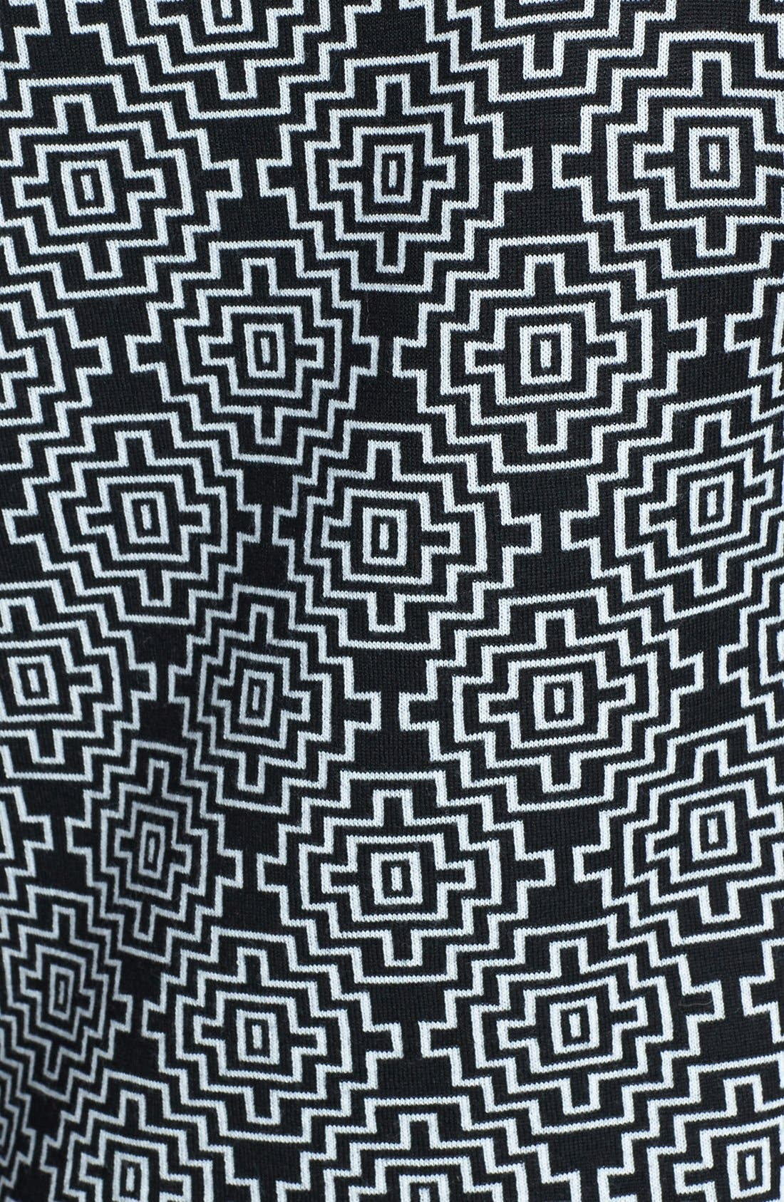 Alternate Image 3  - Classiques Entier® 'Bella Lana' Pattern Wool Pullover