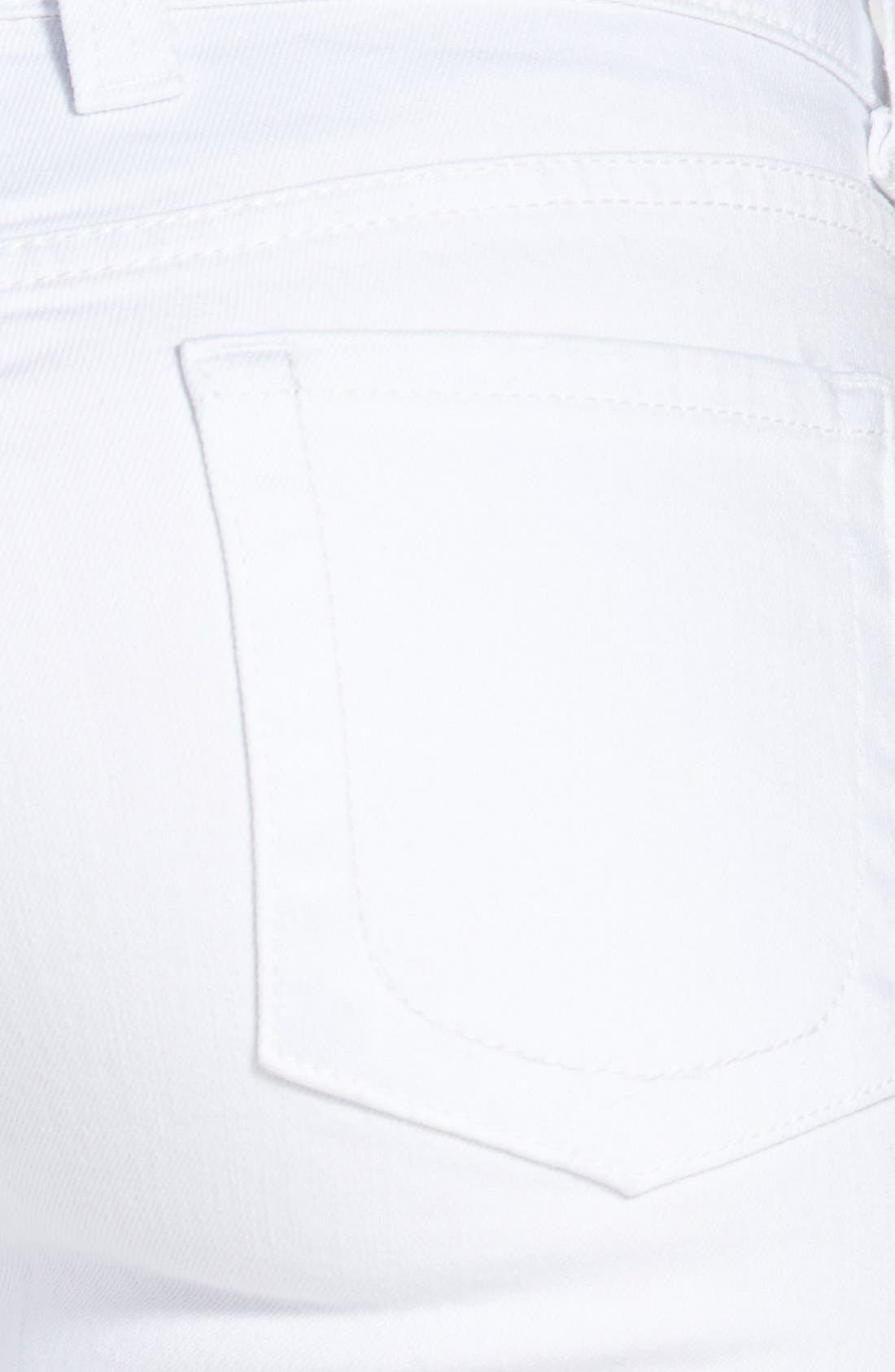 Alternate Image 3  - KUT from the Kloth 'Mia' Skinny Jeans (White)