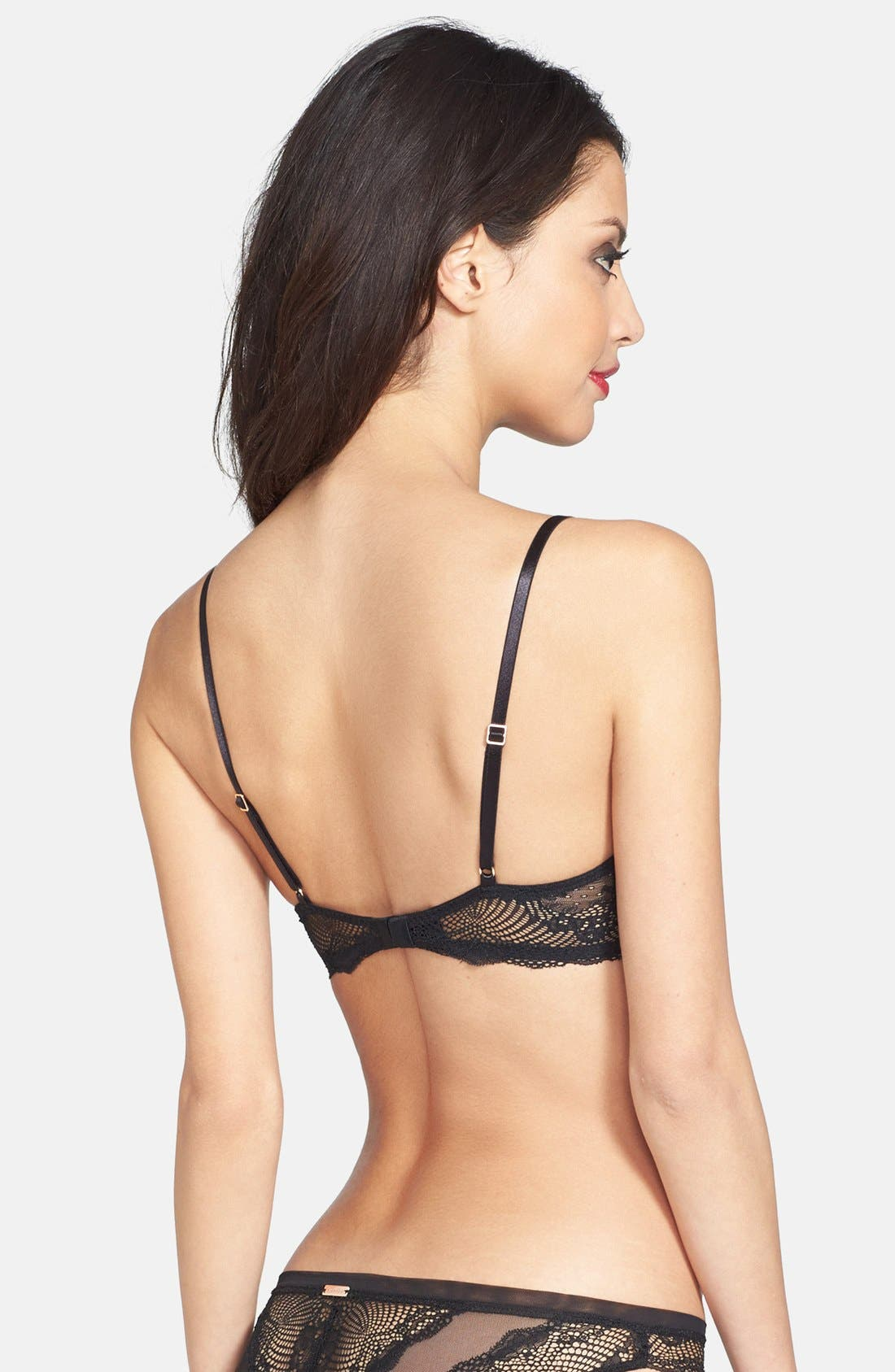 Alternate Image 2  - Calvin Klein 'Serene' Lace Triangle Bra