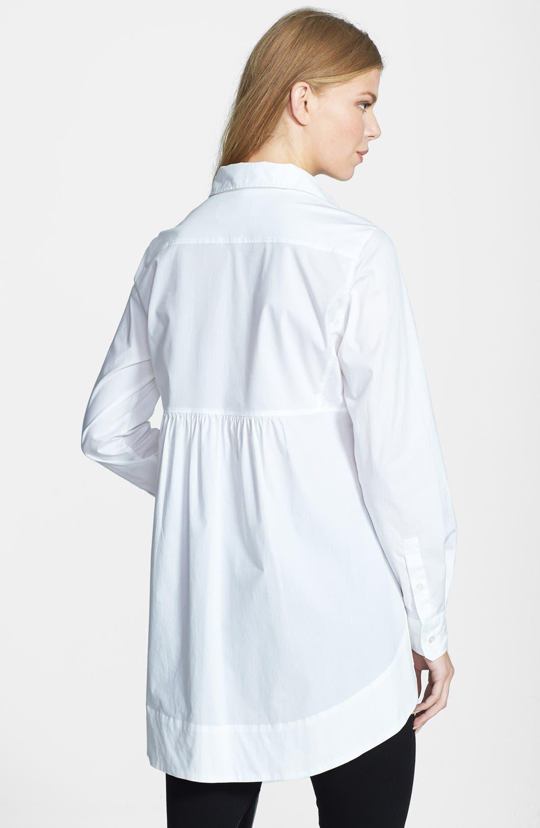 Alternate Image 2  - Weekend Max Mara 'Refolo' Poplin Tunic Shirt