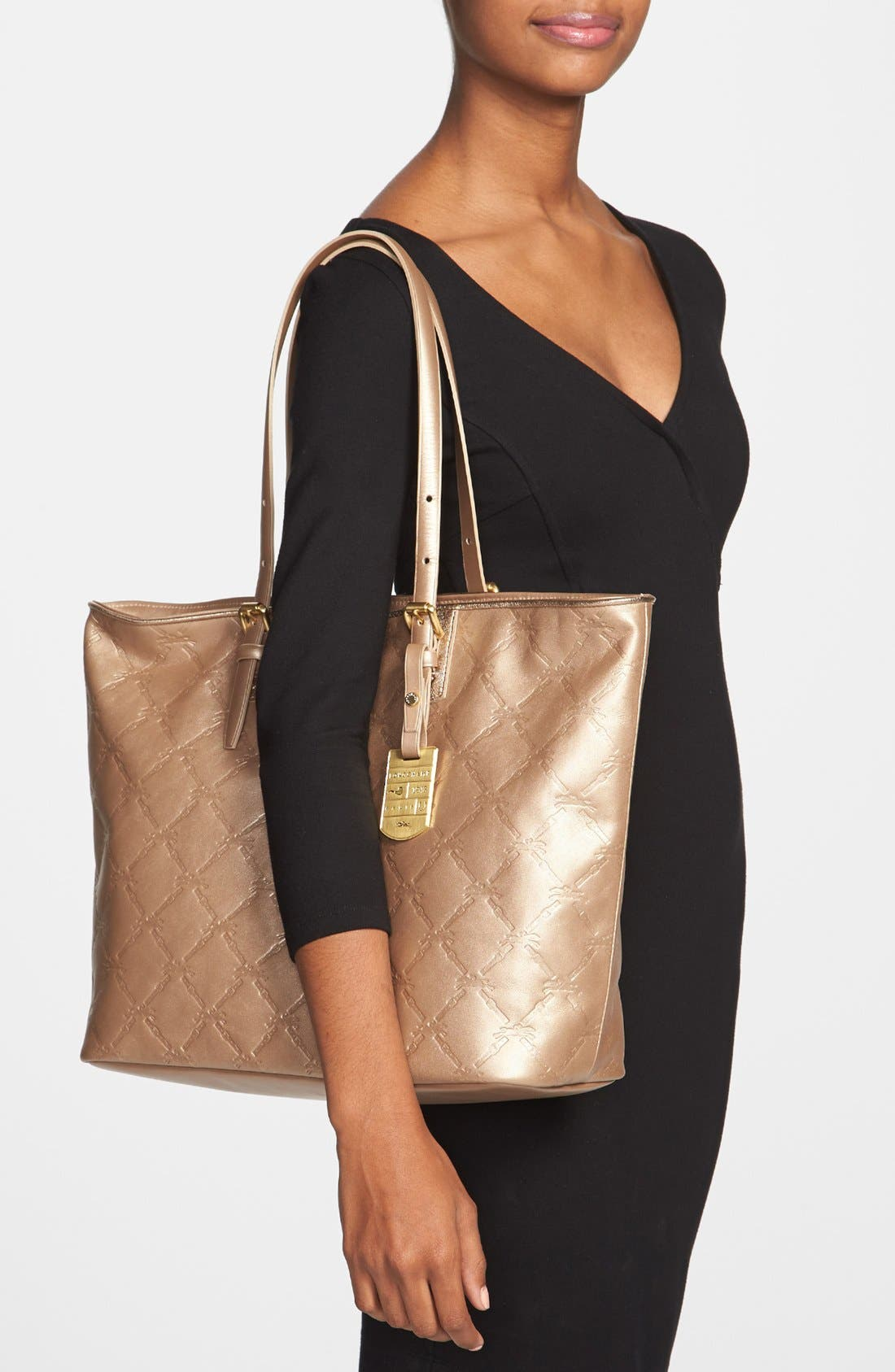 Alternate Image 2  - Longchamp 'Large LM Cuir' Leather Tote