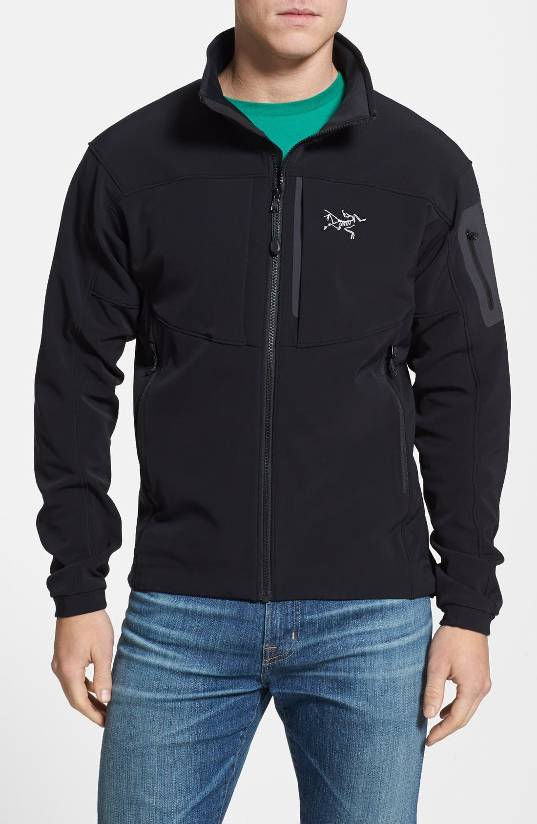 Alternate Image 1 Selected - Arc'teryx 'Gamma MX' Athletic Fit Soft Shell Jacket