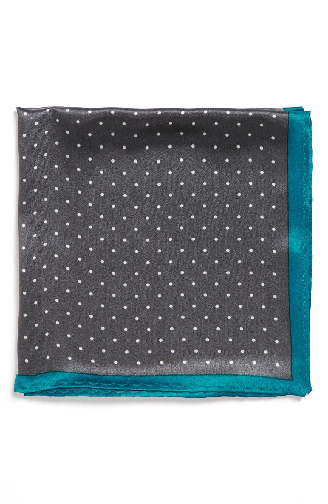 Alternate Image 2  - Original Penguin 'Amsterdam Dot' Silk Pocket Square