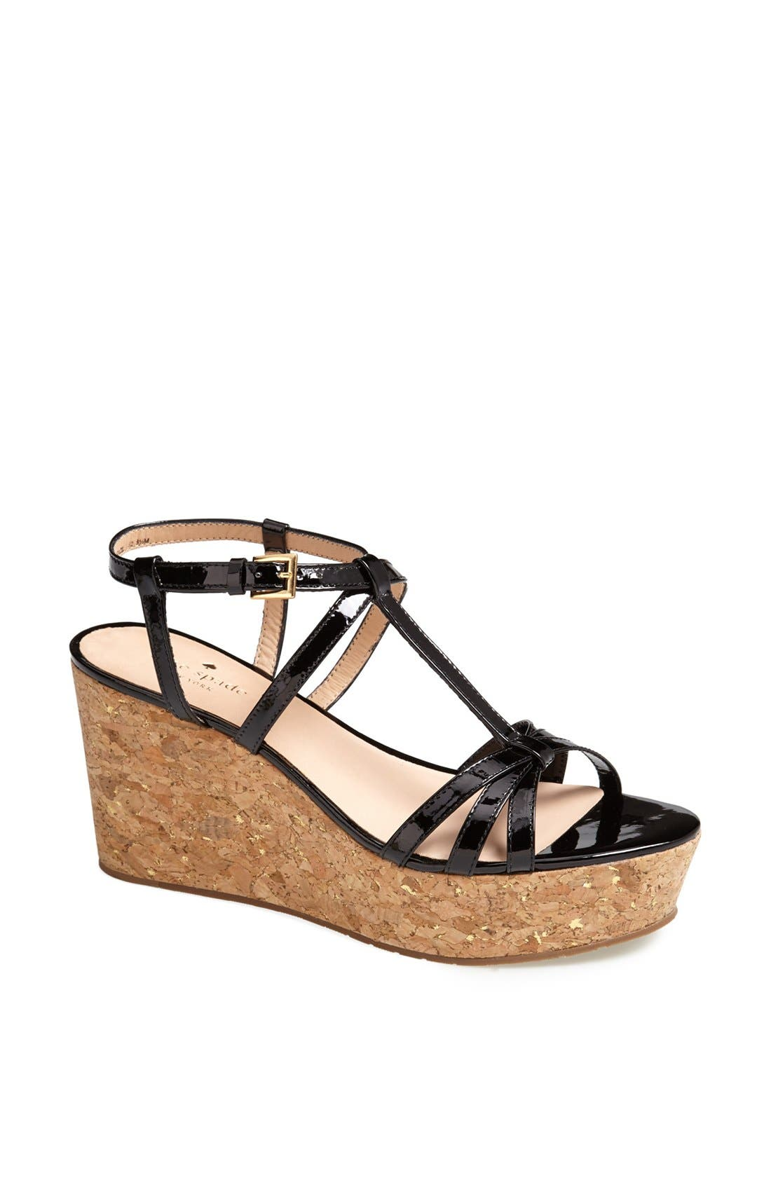 Alternate Image 1 Selected - kate spade new york 'tropez' wedge platform sandal