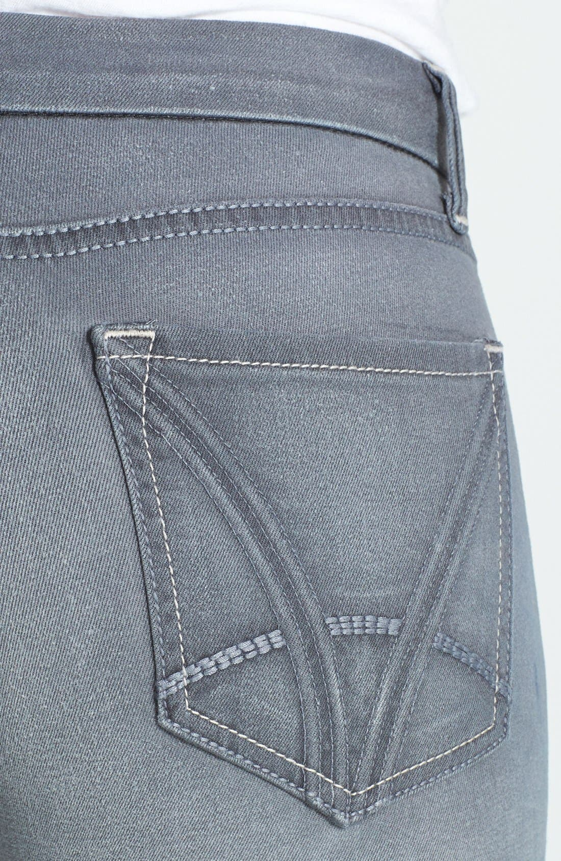 Alternate Image 3  - KUT from the Kloth 'Mia' Skinny Jeans (Notorious)