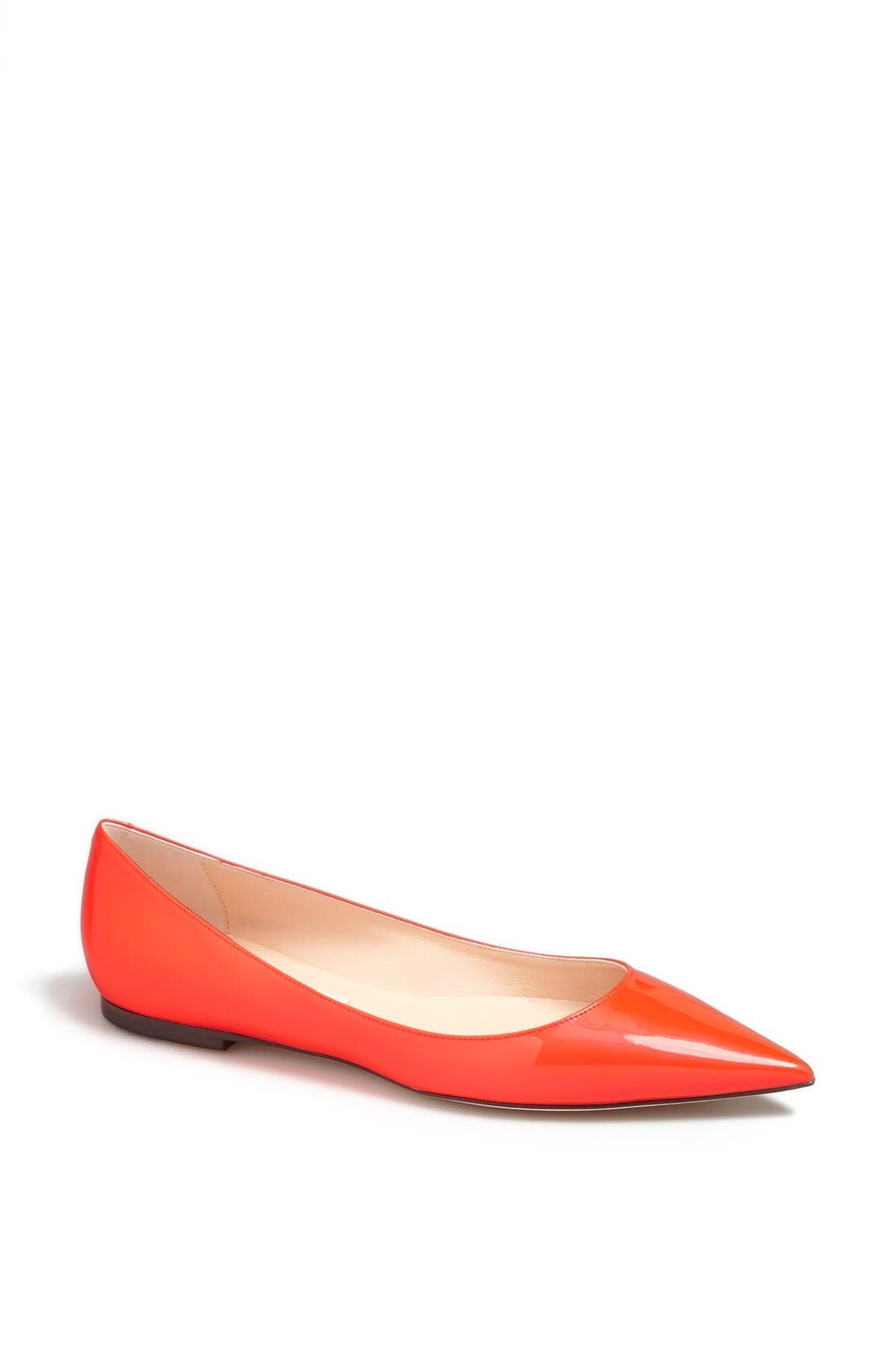 Alternate Image 1 Selected - Jimmy Choo 'Alina' Pointy Toe Flat