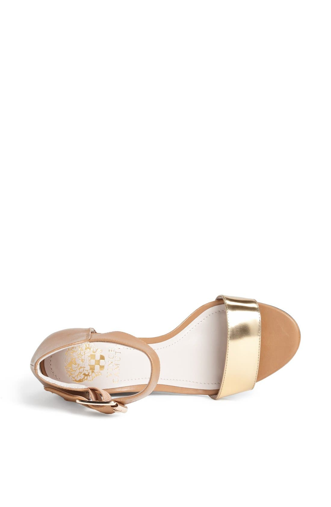 Alternate Image 4  - Vince Camuto 'Luciah' Ankle Strap Wedge Sandal
