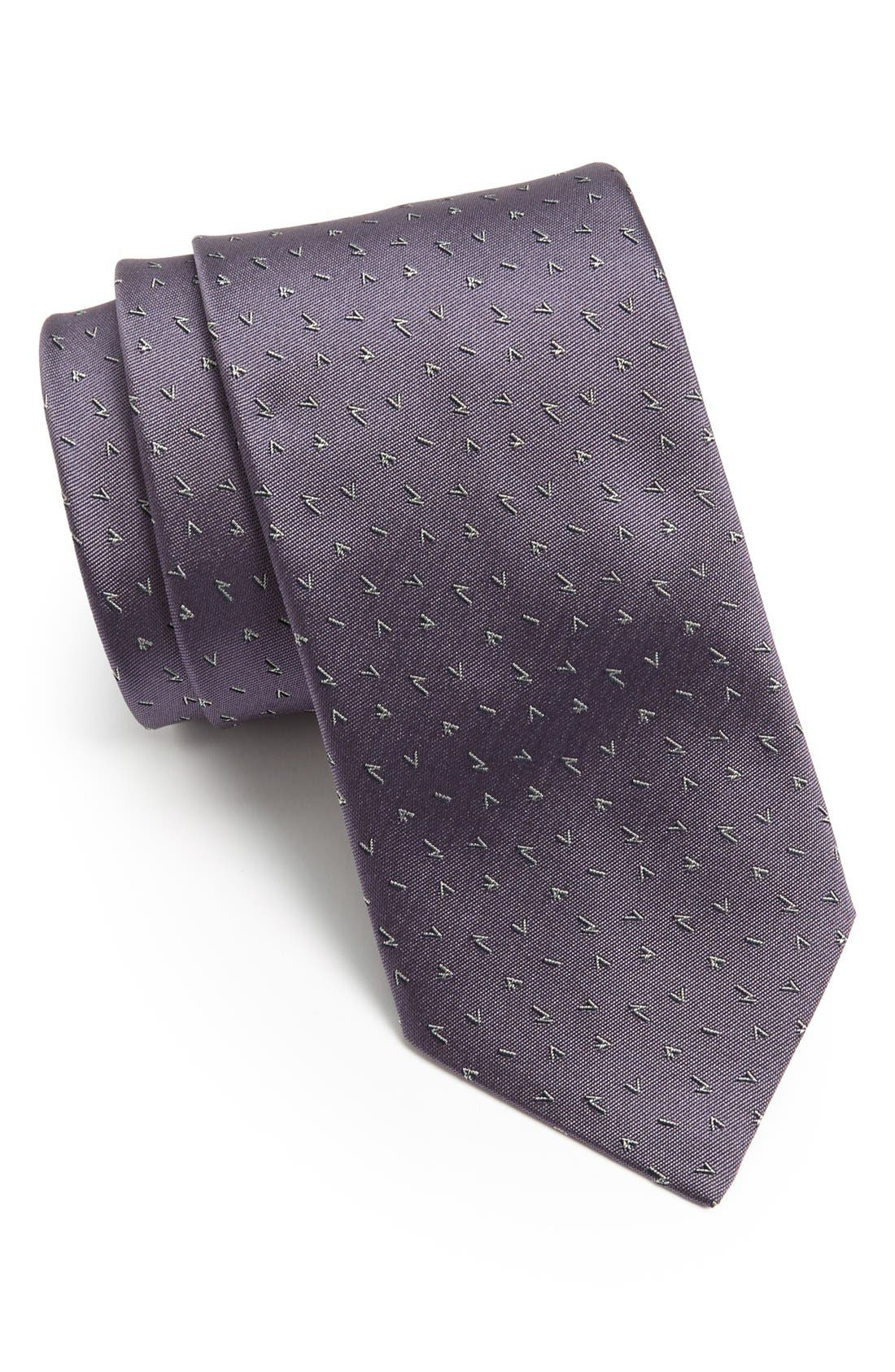 Alternate Image 1 Selected - Lanvin Woven Silk Tie