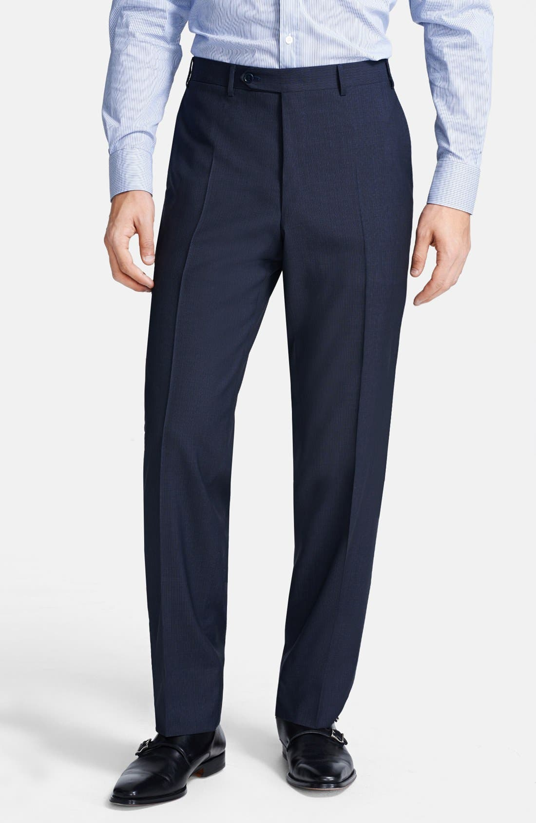 Alternate Image 4  - Canali Classic Fit Stripe Suit