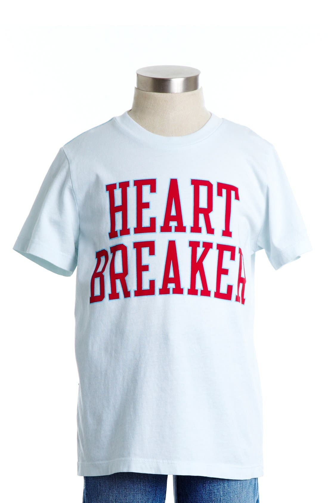 Alternate Image 1 Selected - Peek 'Heart Breaker' Graphic T-Shirt (Toddler Boys, Little Boys & Big Boys)