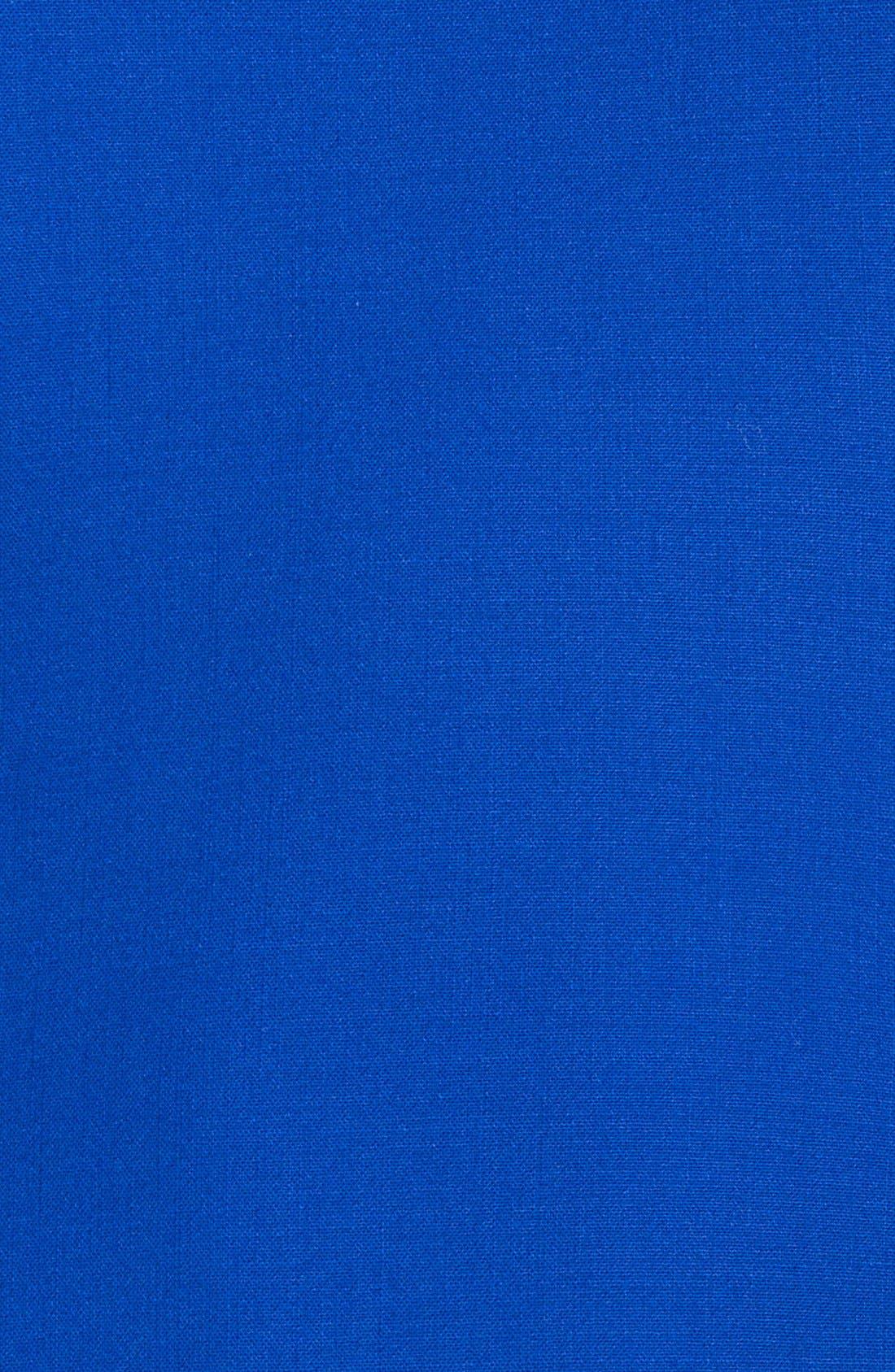 Alternate Image 3  - Emilio Pucci Back Pleat Stretch Wool Dress