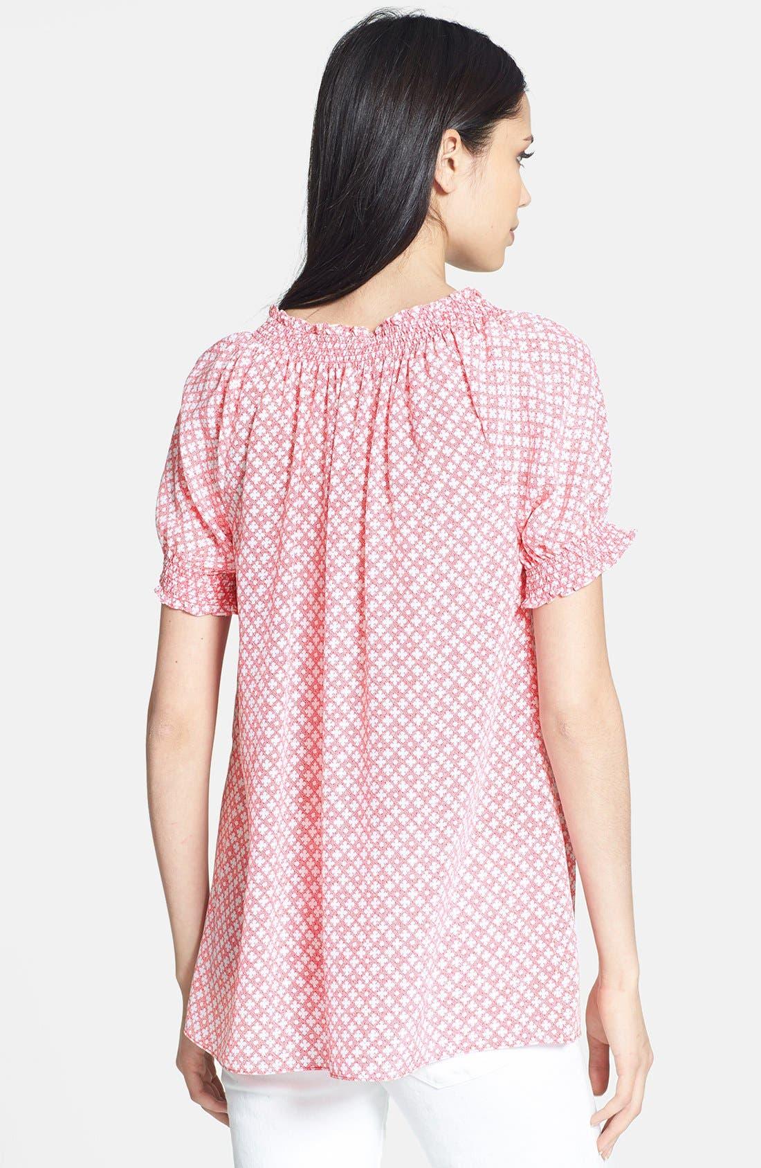 Alternate Image 2  - Joie 'Masha' Print Silk Blouse