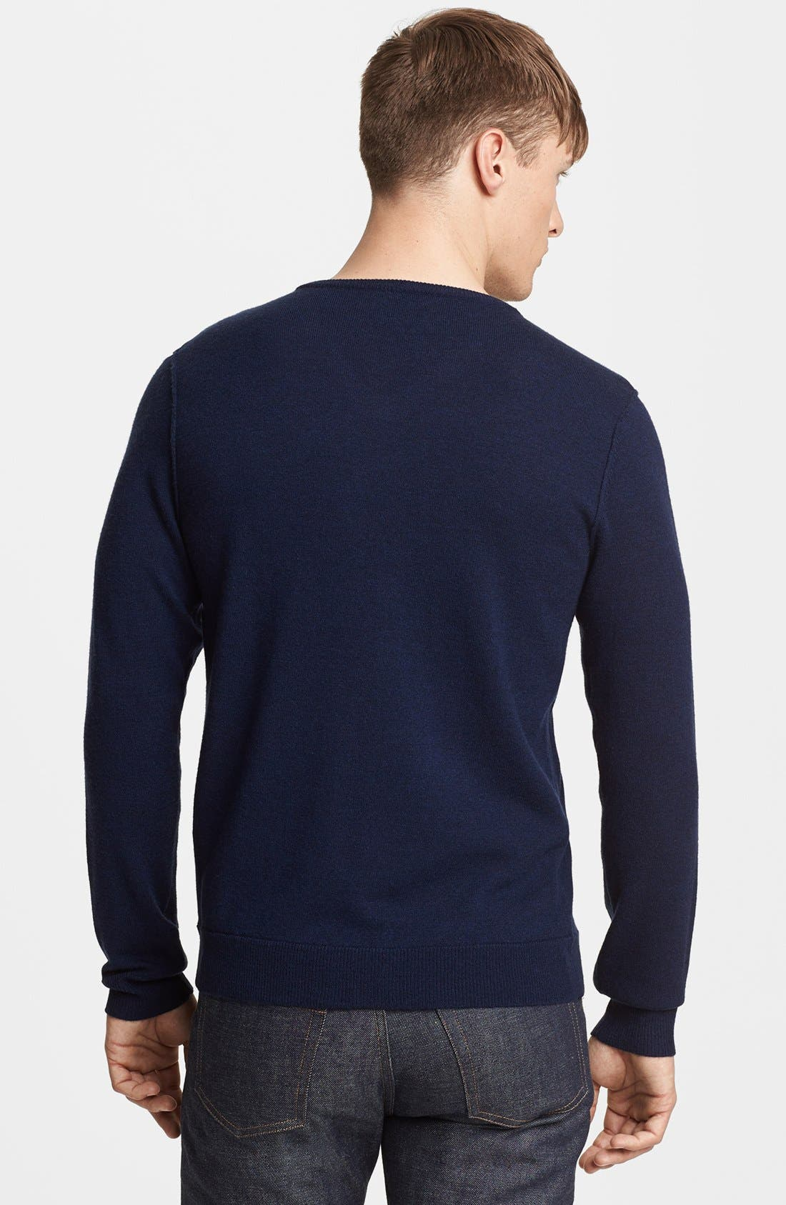 Alternate Image 2  - rag & bone 'Abingdon' V-Neck Merino Wool Sweater