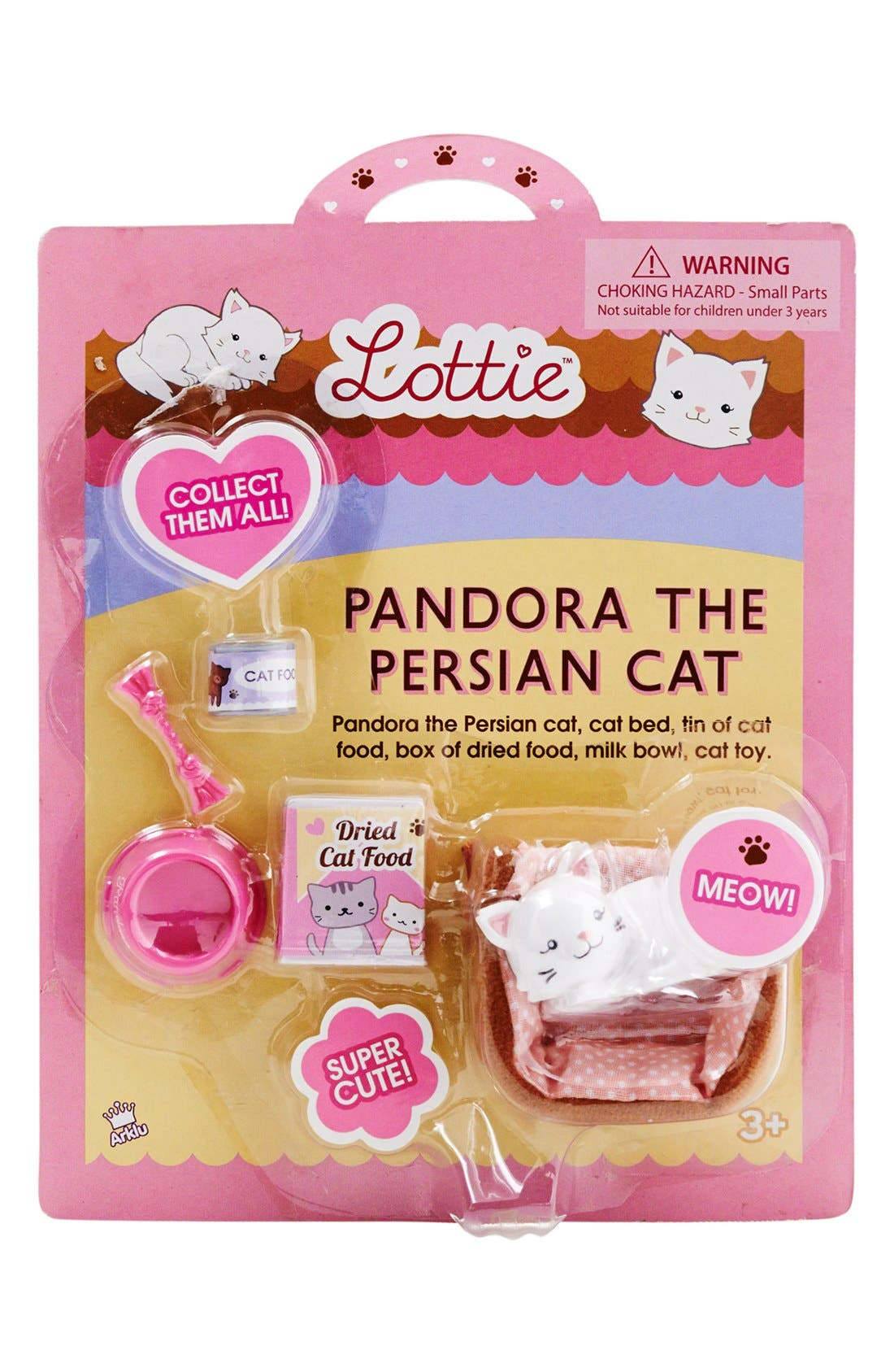Alternate Image 6  - Schylling 'Pandora the Persian Cat' Lottie™ Doll Accessory Set