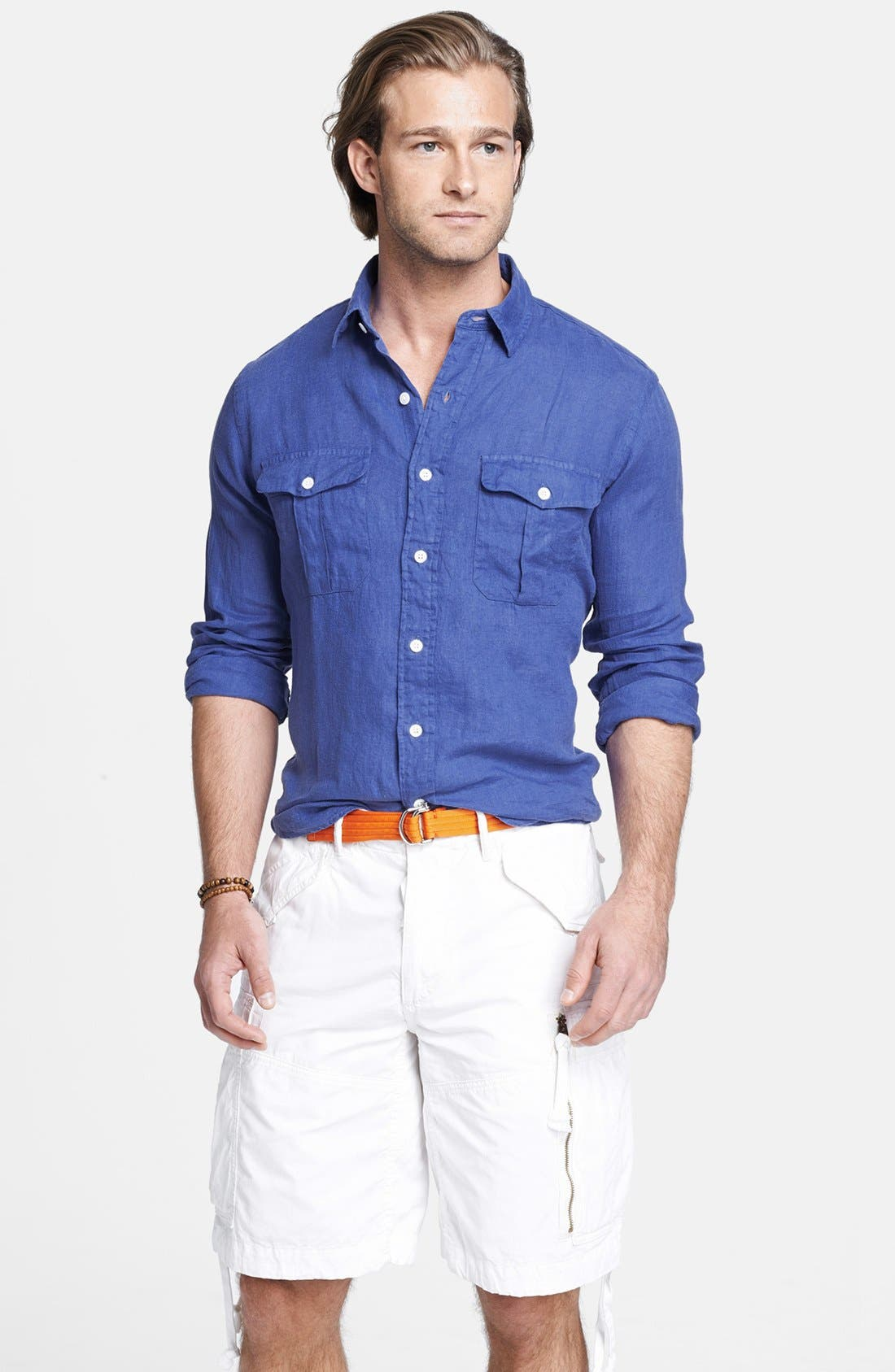 Alternate Image 1 Selected - Polo Ralph Lauren Custom Fit Sport Shirt