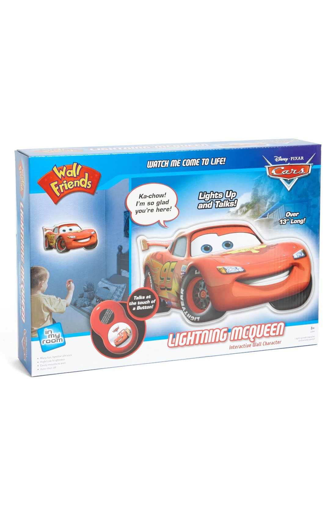 Alternate Image 1 Selected - Uncle Milton 'Lightning McQueen' Interactive Wall Character