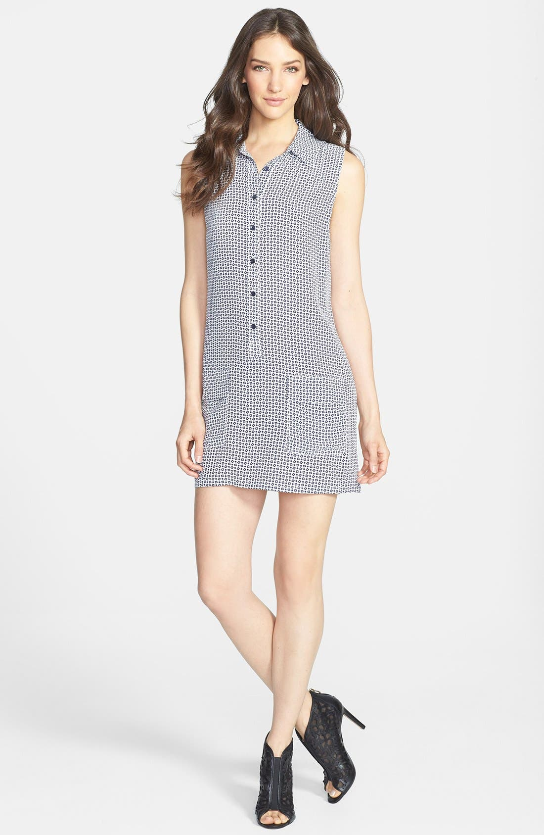 Main Image - Equipment 'Lucida' Print Silk Shirtdress