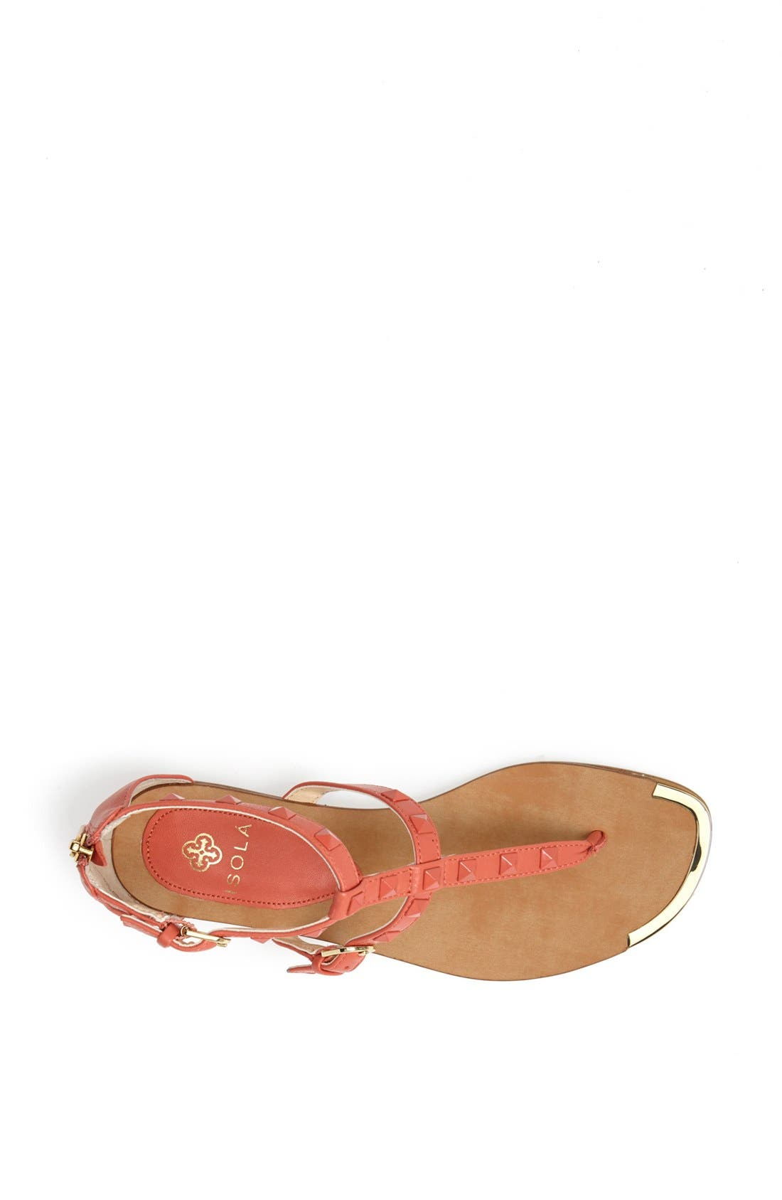 Alternate Image 3  - Isolá 'Adie' Studded Leather Thong Sandal