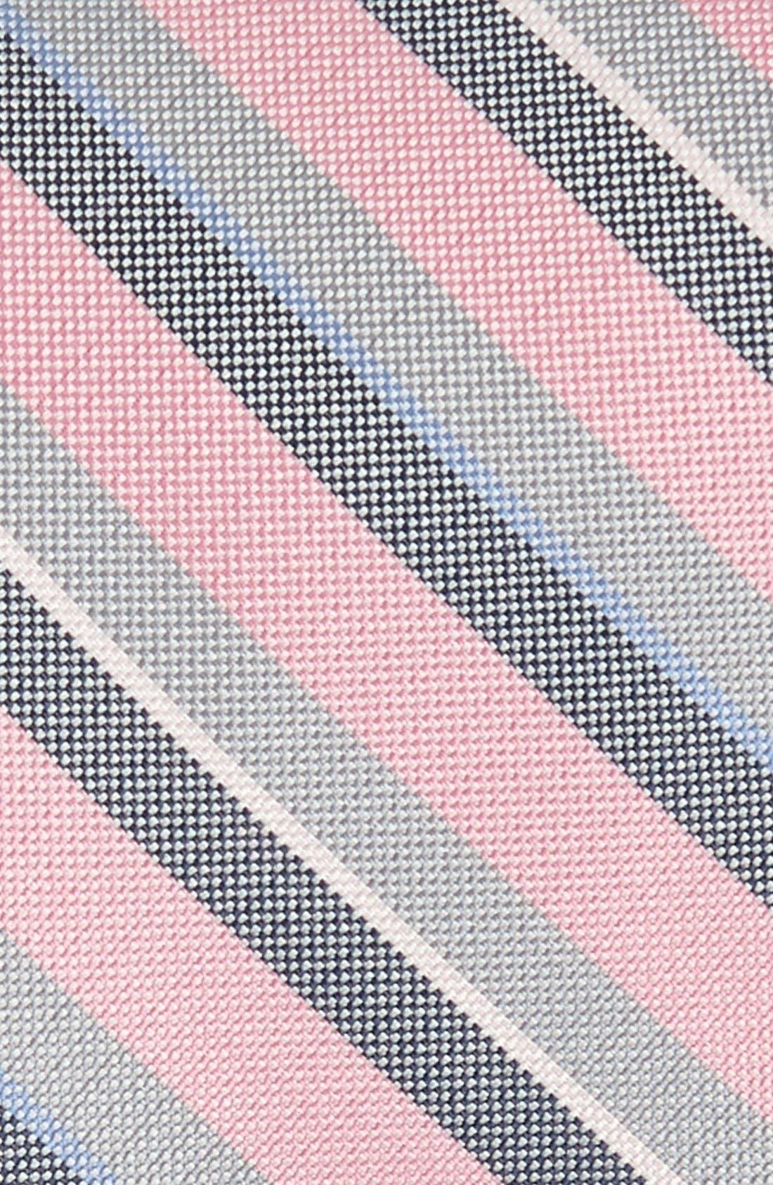 Alternate Image 2  - EDIT by The Tie Bar Stripe Silk Tie (Nordstrom Exclusive)