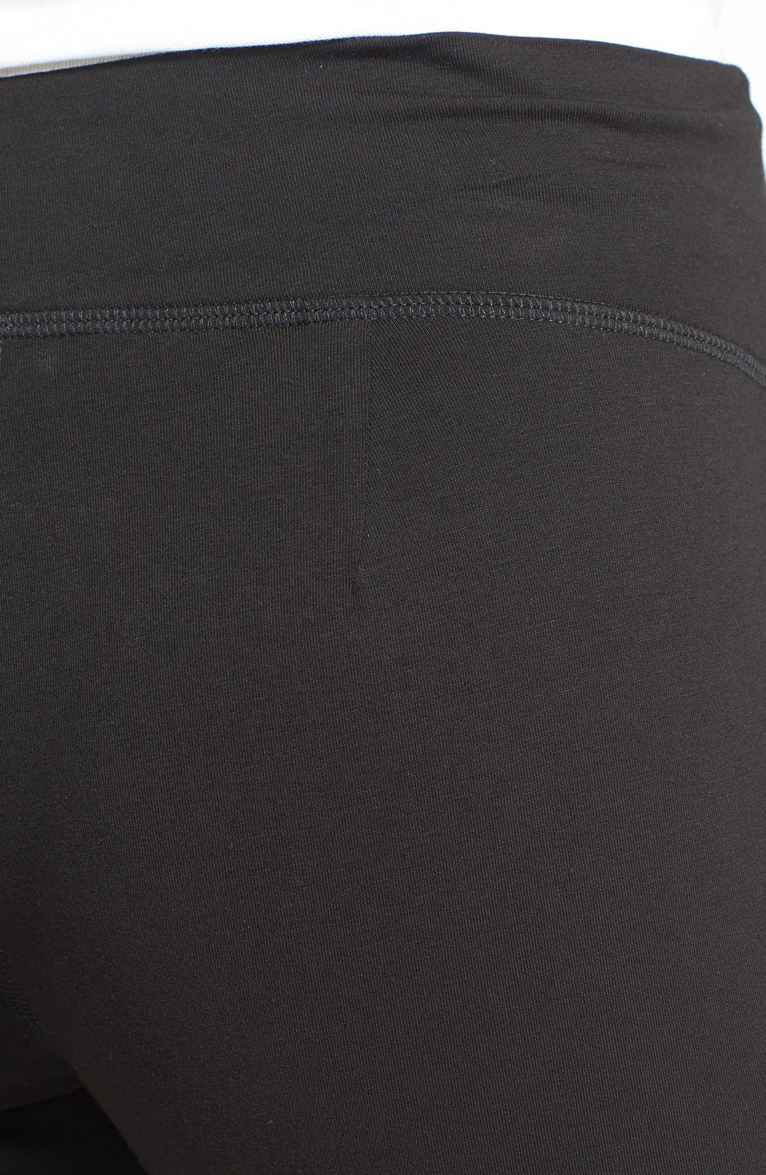 Alternate Image 3  - Eileen Fisher Organic Cotton Yoga Pants (Regular & Petite)