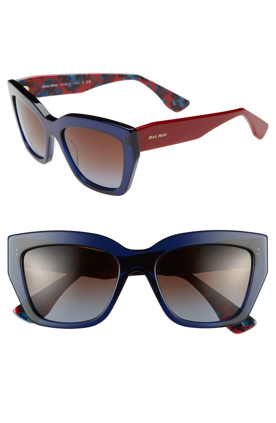 Alternate Image 1 Selected - Miu Miu 56mm Sunglasses