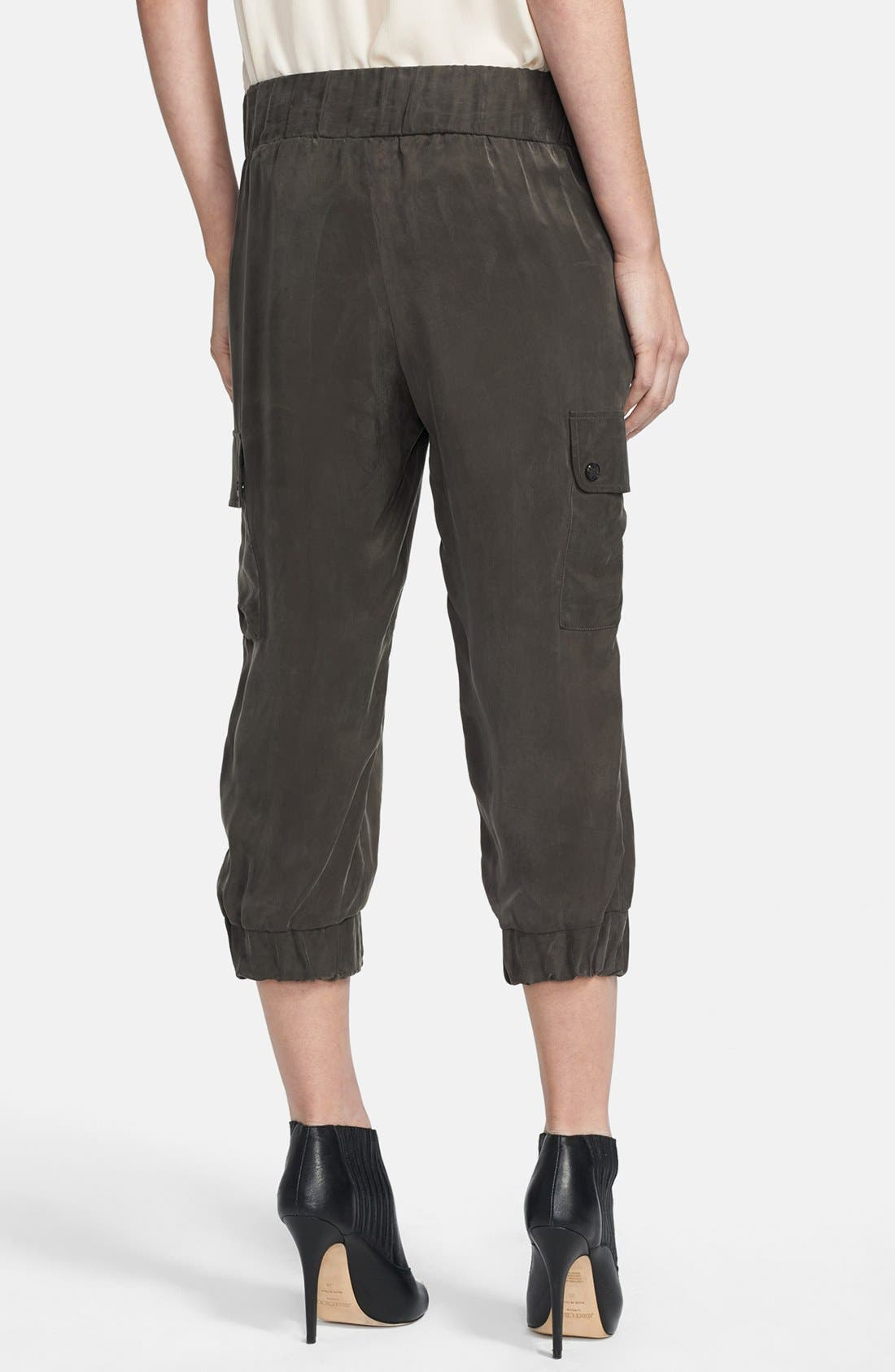 Alternate Image 2  - Haute Hippie Crop Cargo Pants