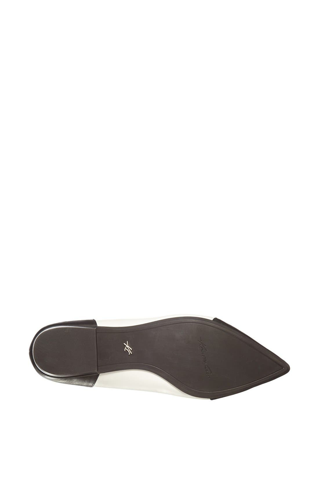 Alternate Image 4  - Kenneth Cole New York 'Mulberry' Leather Flat