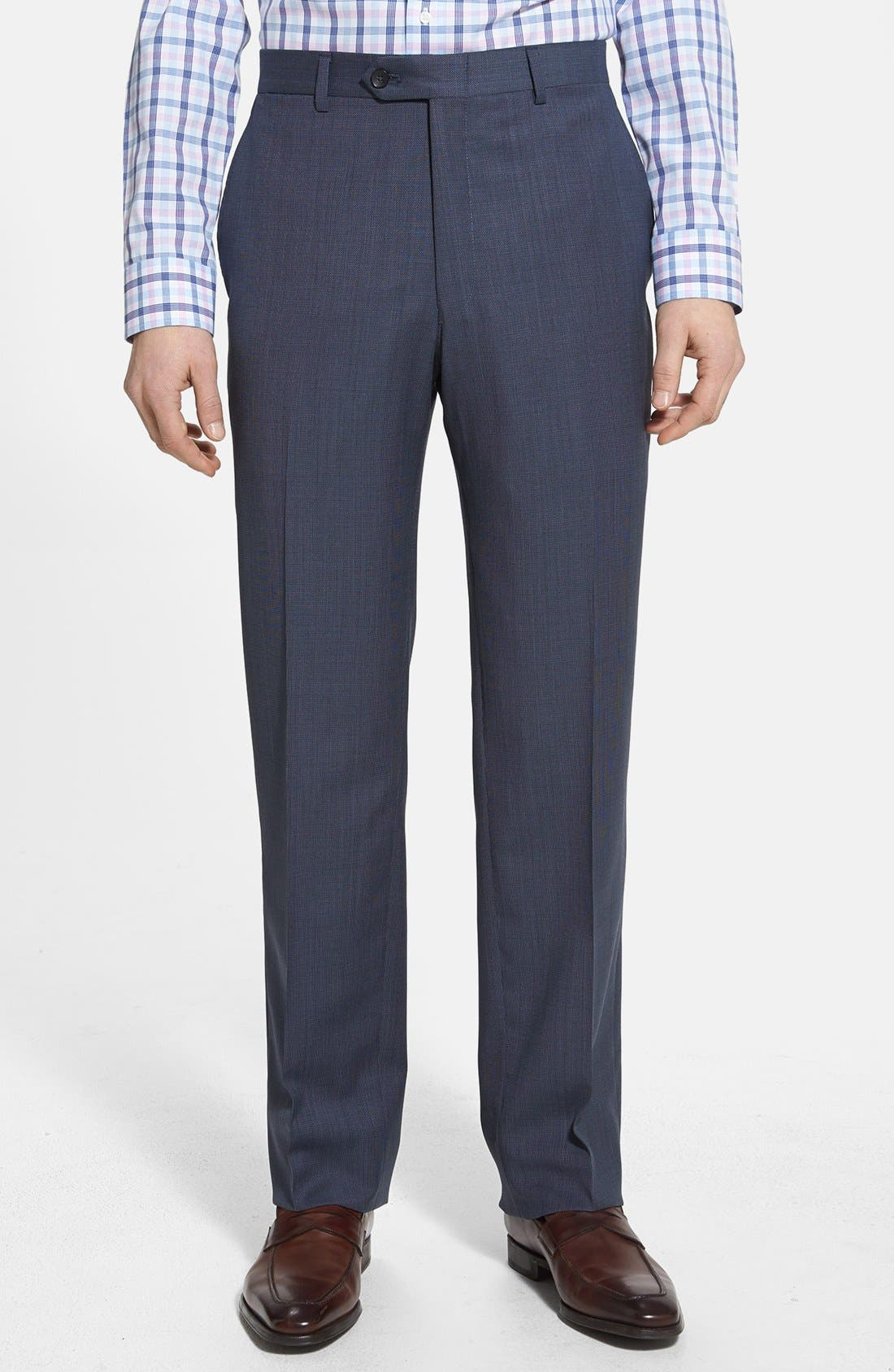 Alternate Image 4  - NY 2BTN SV FF CLASSIC FIT SUIT